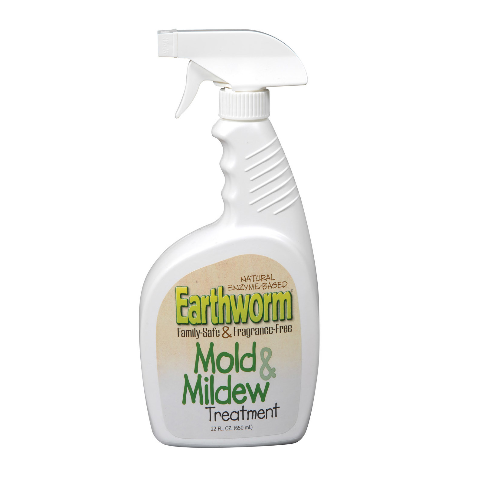 Earthworm Mold Stain and Mildew Stain Treatment - Case of 6 - 22 FL oz.
