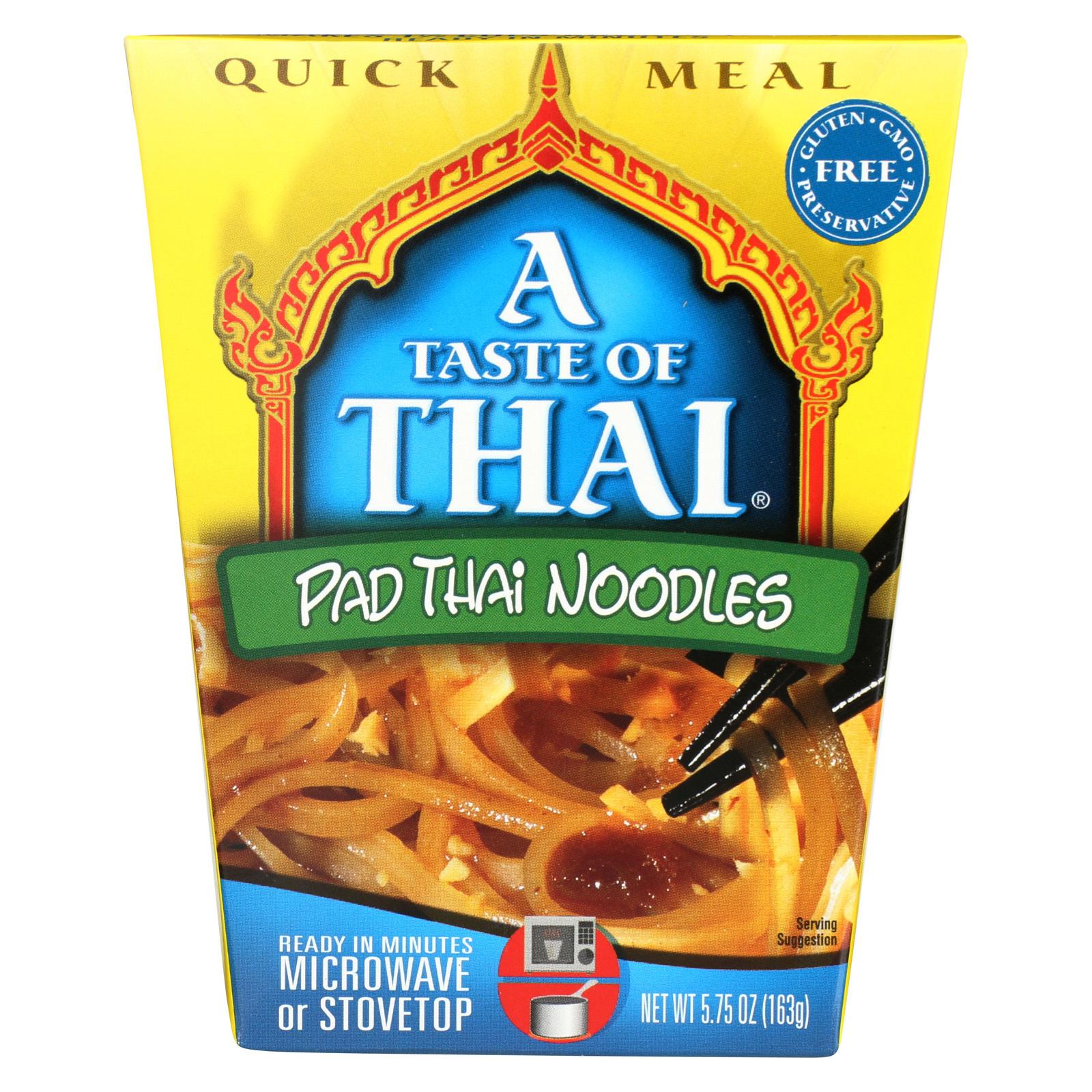 Taste of Thai Pad Thai Sauce - Case of 6 - 5.75 oz.