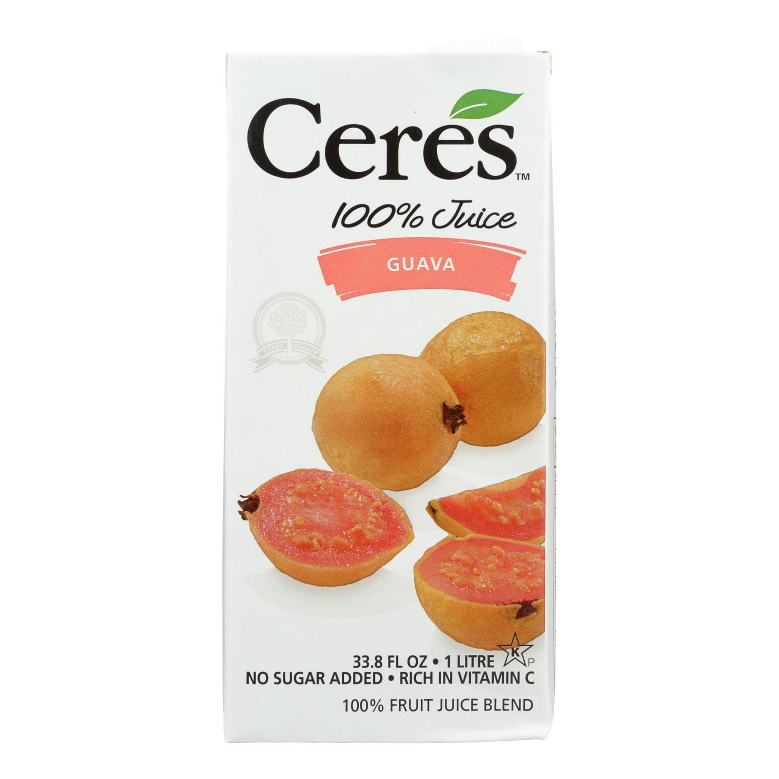 Ceres Juices Juice - Guava - Case of 12 - 33.8 fl oz