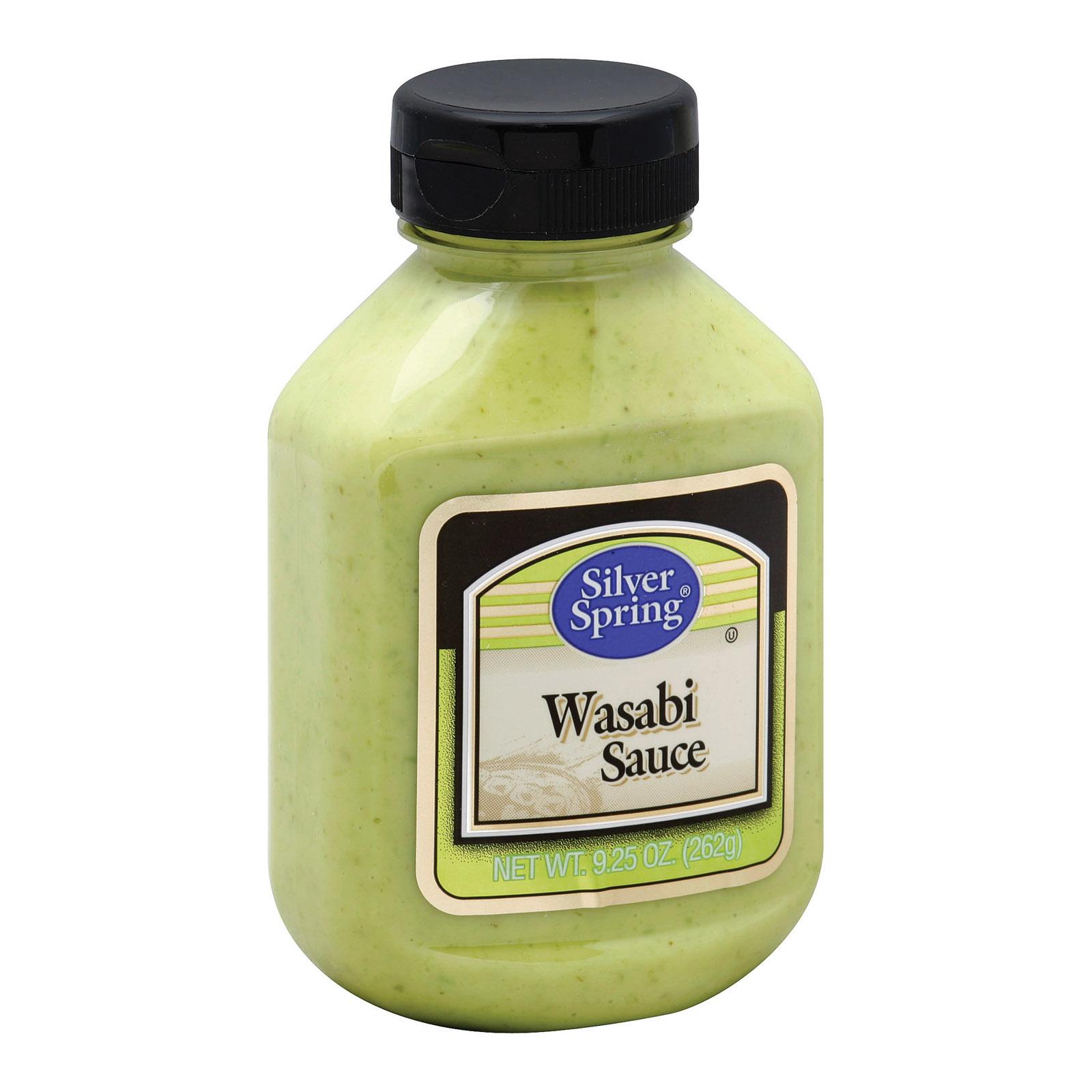 Silver Spring Sauce - Wasabi - Case of 9 - 9.25 fl oz