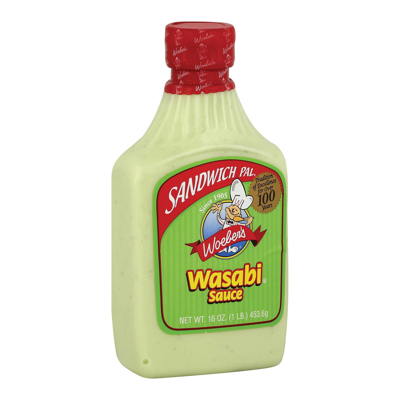 Woeber's Sauce - Wasabi - 16 fl oz