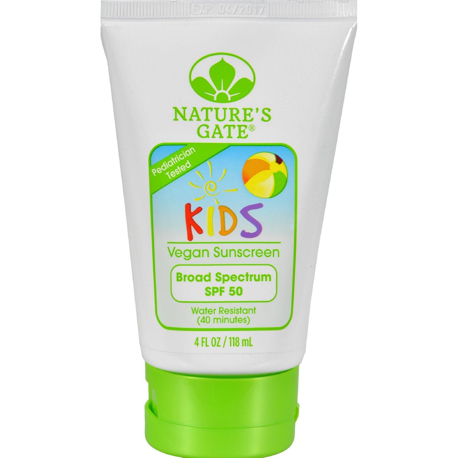 Nature's Gate Kid's Block SPF 50 Sunscreen Lotion - 4 fl oz