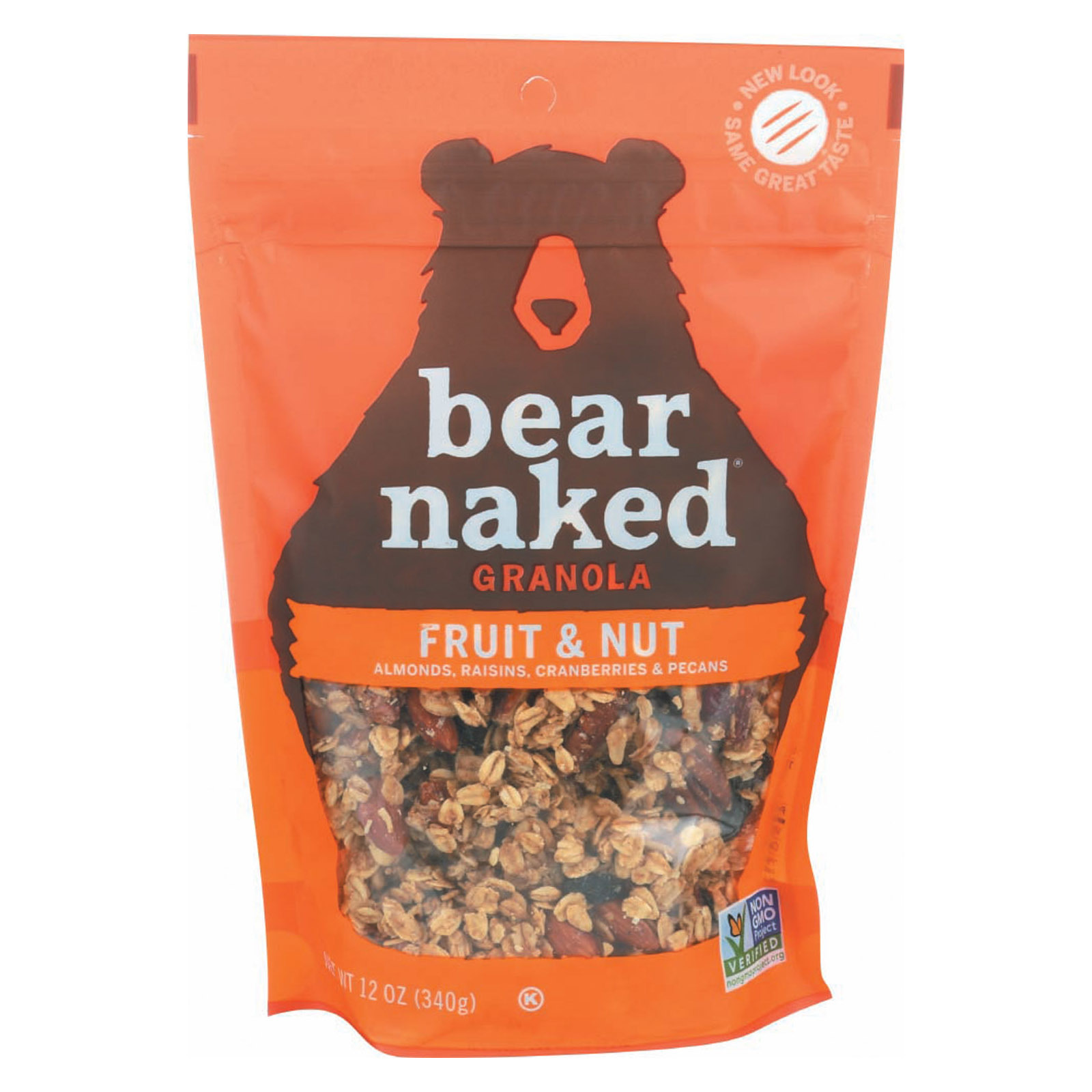 Bear Naked Granola - Fruit and Nutty - Case of 6 - 12 oz.