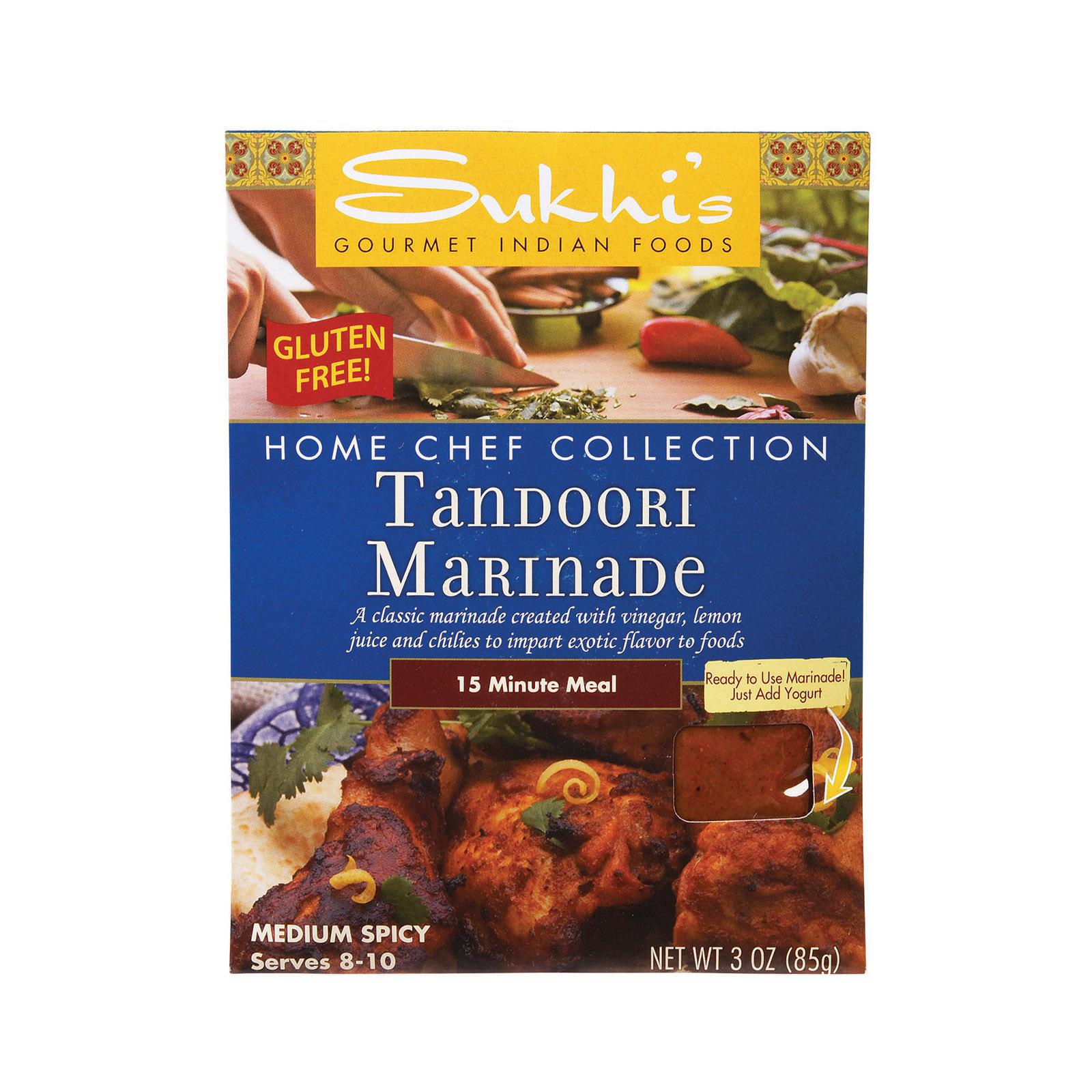 Sukhi's Tandoori Marinade - Case of 6 - 3 oz.
