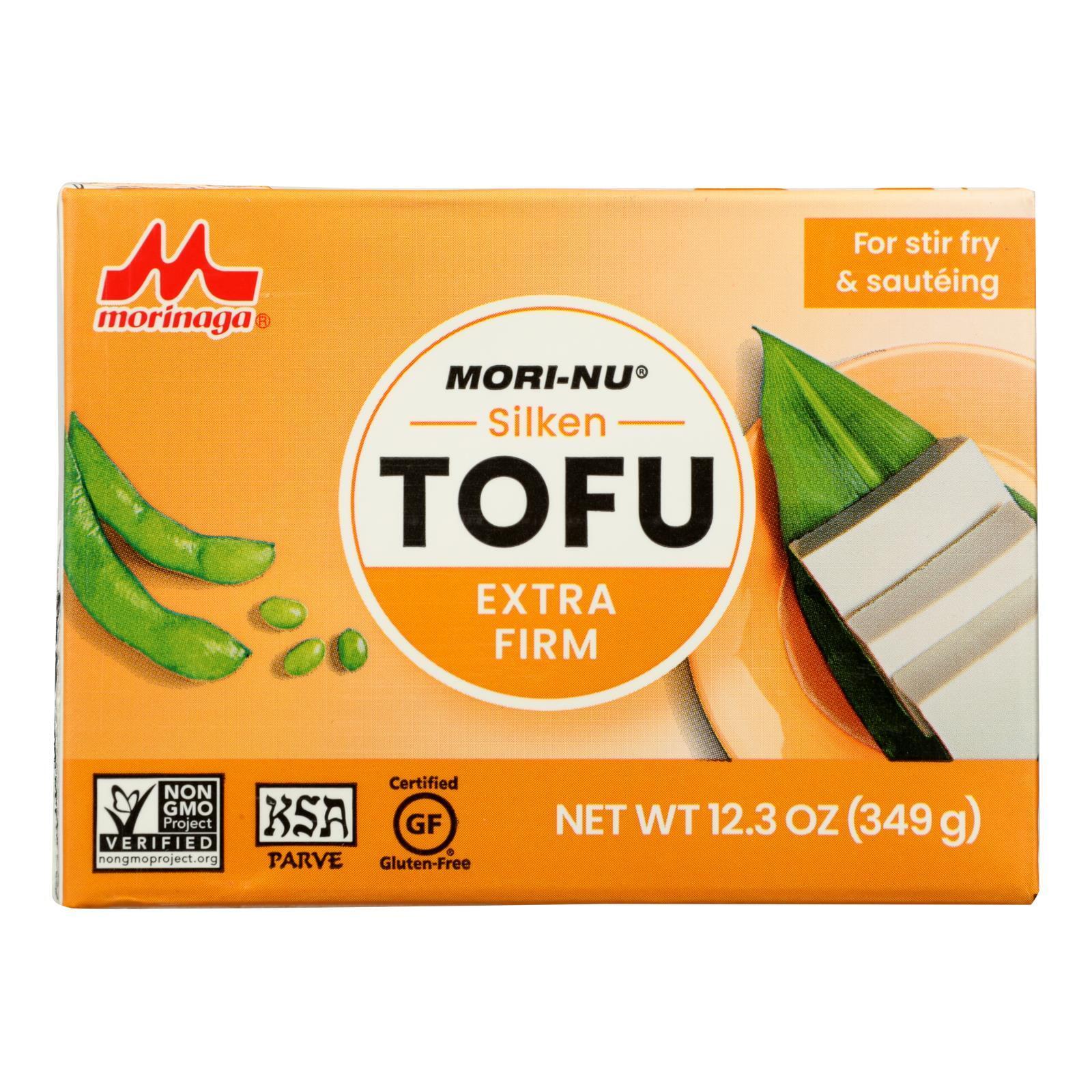 Mori-Nu Silken Tofu - Extra Firm - Case of 12 - 12.3 oz.