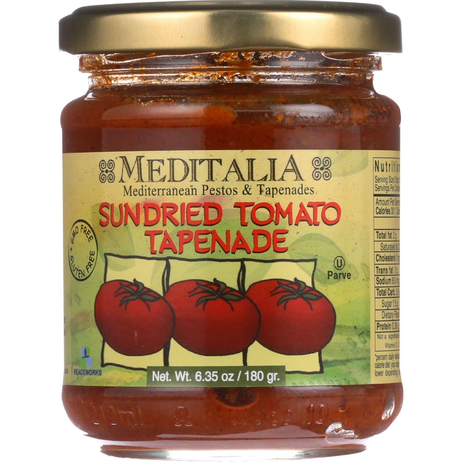 Meditalia Spread - Sundried Tomato - 6.35 oz - case of 6