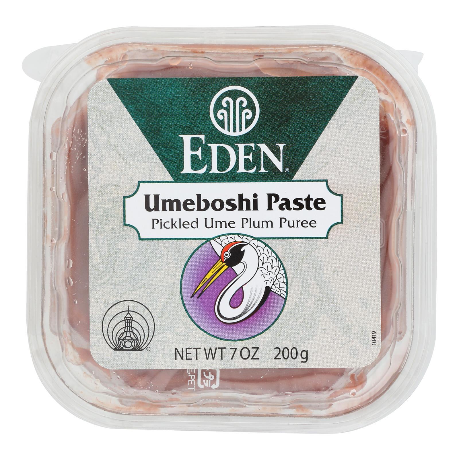 Eden Foods Umeboshi Paste - Pickled Plum Puree - 7.05 oz