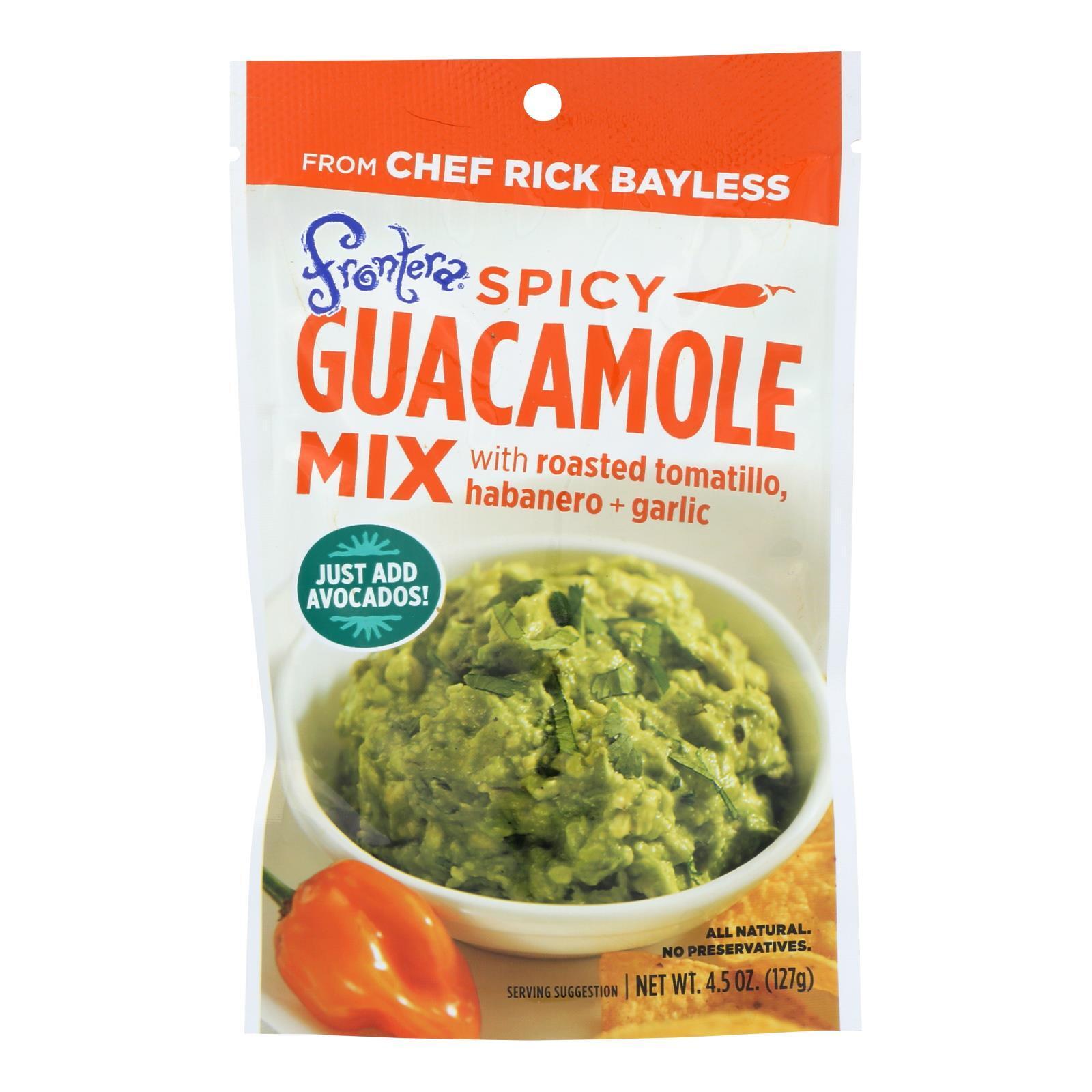 Frontera Foods Spicy Guacamole Mix - Guacamole Mix - Case of 8 - 4.5 oz.