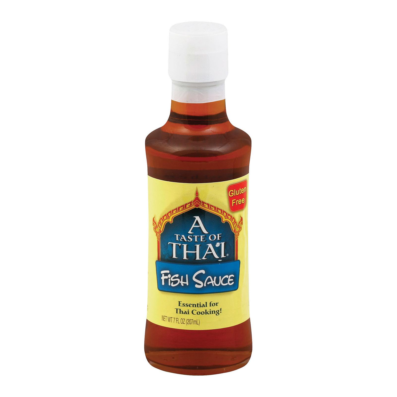 Taste of Thai Fish Sauce - Case of 6 - 7 Fl oz.