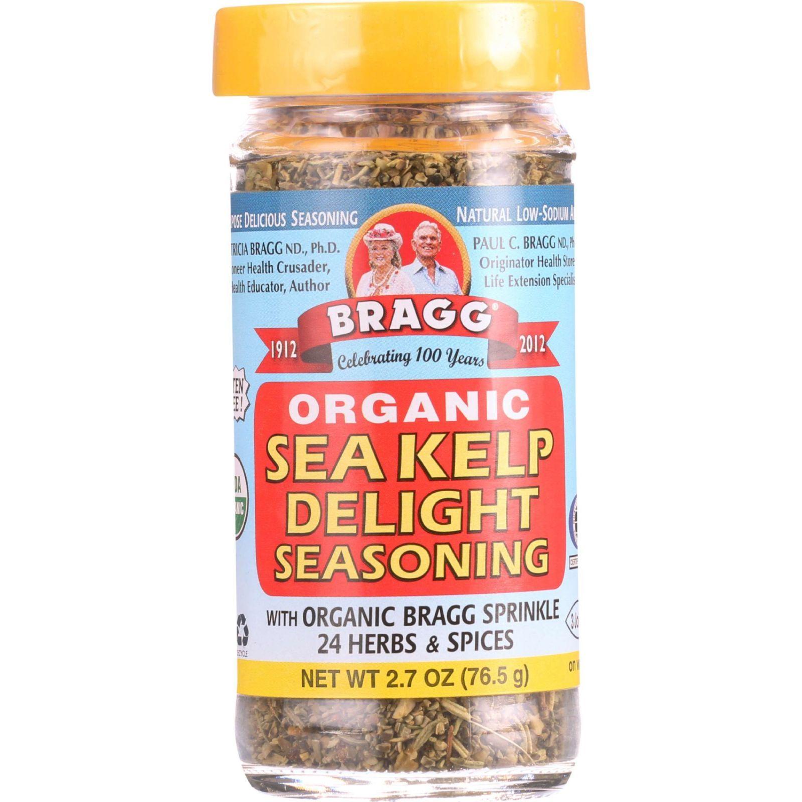 Bragg Seasoning - Organic - Sea Kelp Delight - 2.7 oz - case of 12