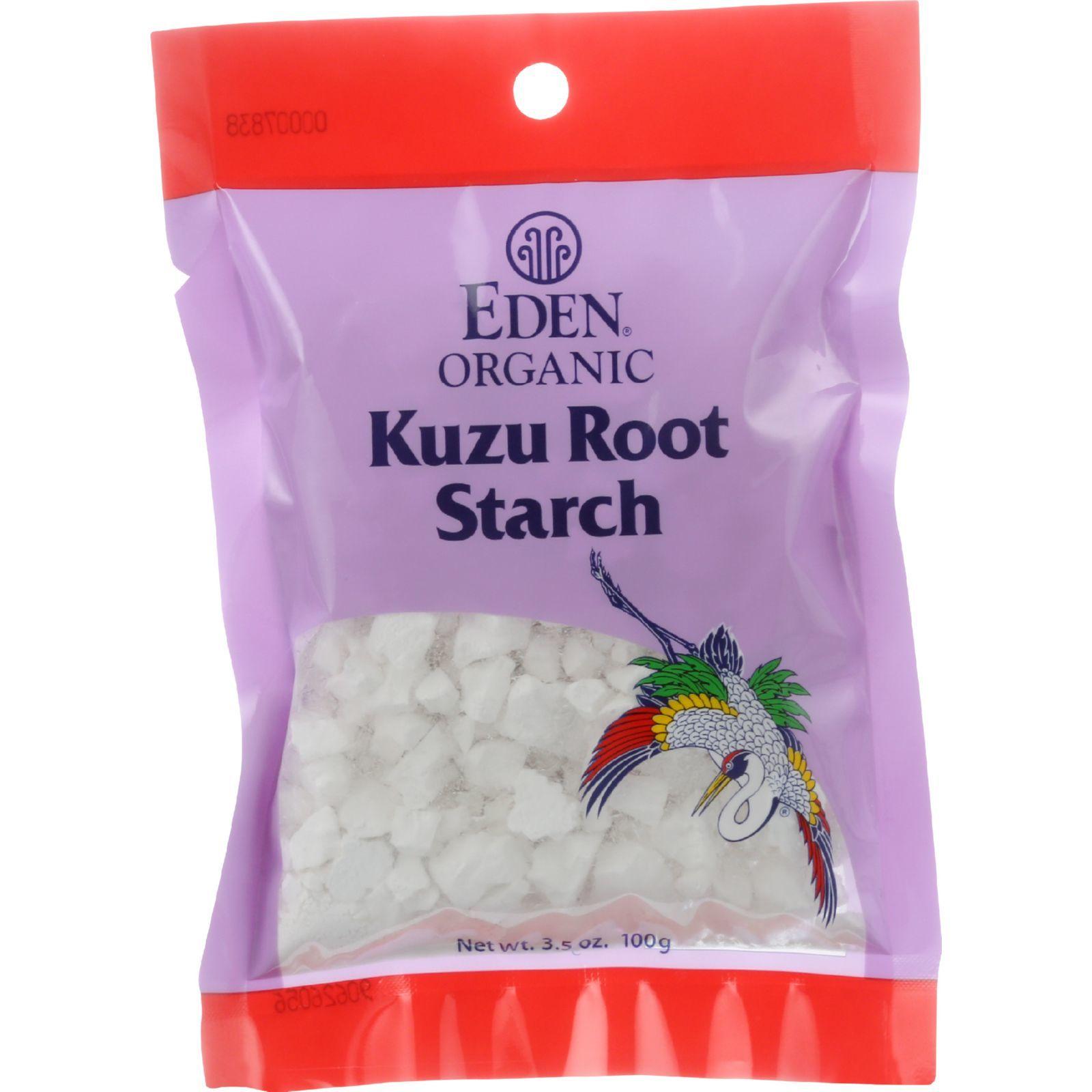 Eden Foods Kudzu Root Starch - Organic - 3.5 oz - case of 12