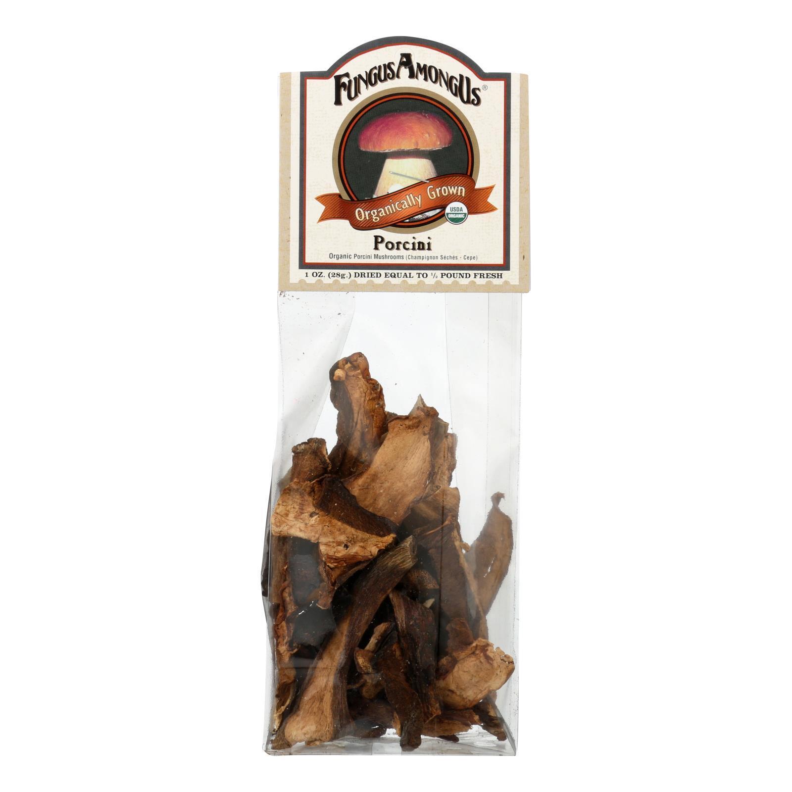 Fungus Among Us Organic Porcini Mushrooms - Mushrooms - Case of 8 - 1 oz.
