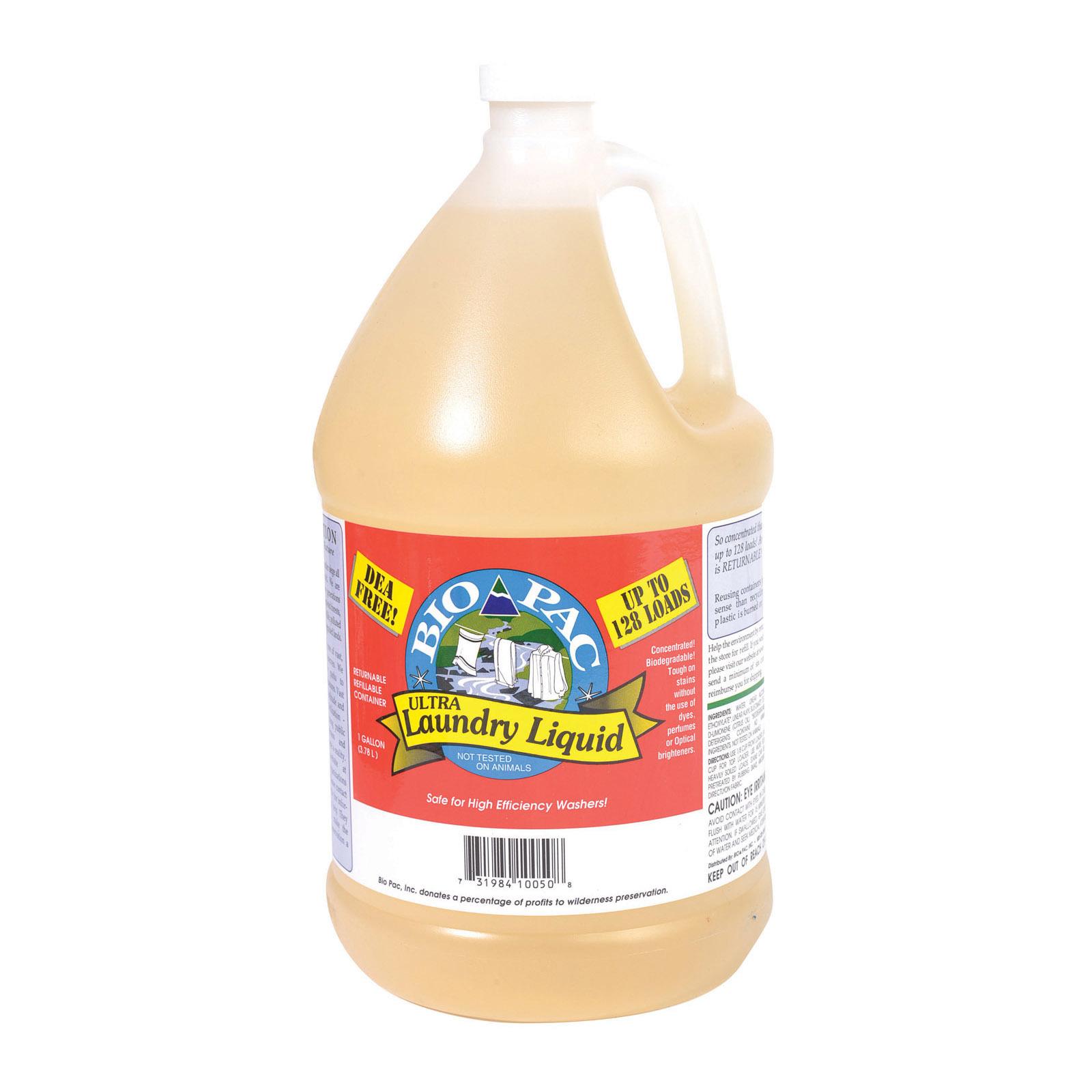 Bio-Pac Laundry Detergent - Liquid - Case of 6 - 1 Gal
