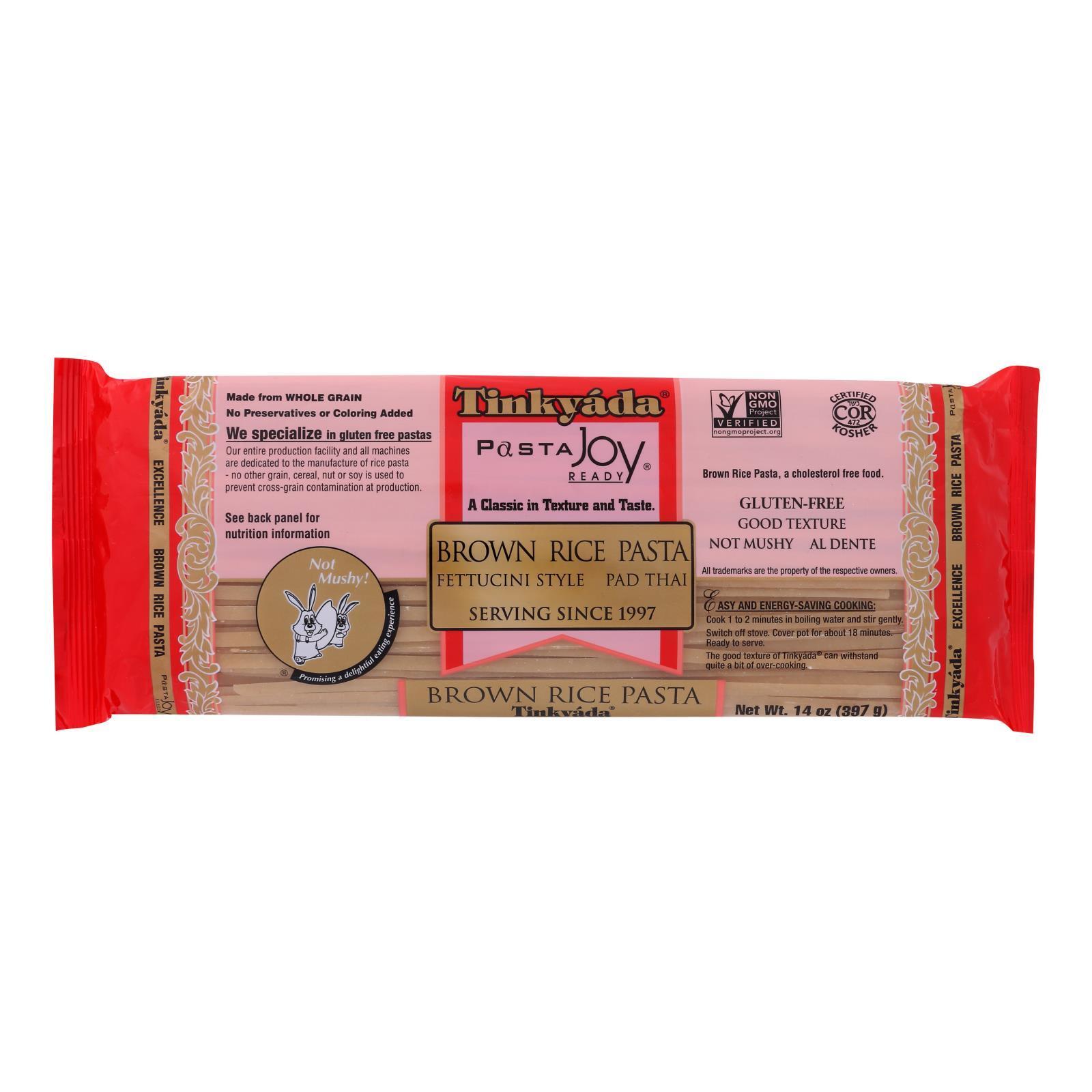 Tinkyada Brown Rice Pasta - Fettuccini - Case of 12 - 14 oz.
