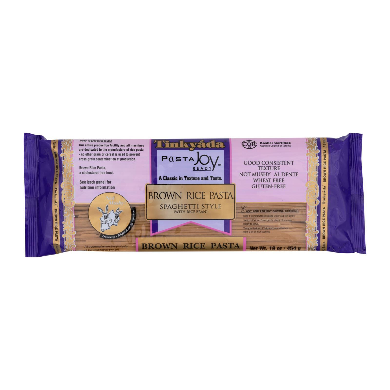 Tinkyada Brown Rice Spaghetti - Case of 12 - 16 oz.