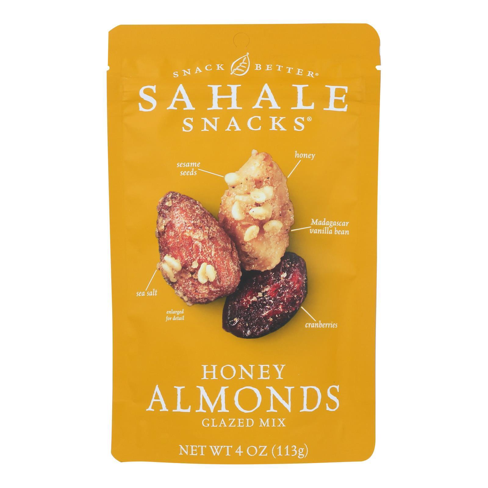 Sahale Snacks Glazed Nuts - Balsamic Almonds - Case of 6 - 4 oz.