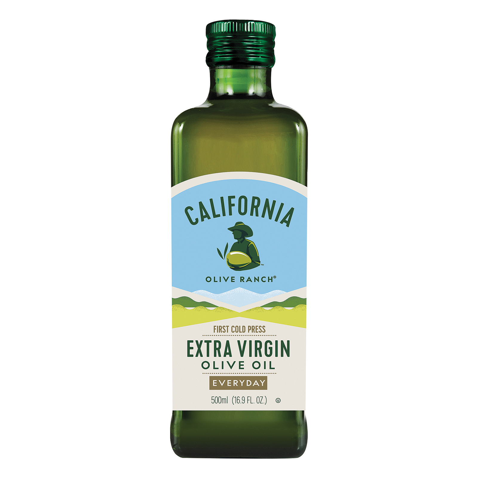 California Olive Ranch Extra Virgin Olive Oil - Everyday - Case of 12 - 16.9 fl oz.