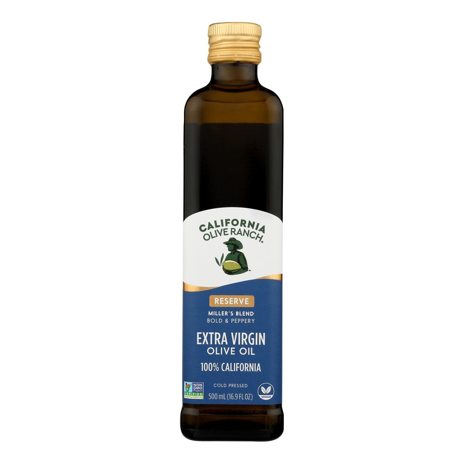 California Olive Ranch Extra Virgin Olive Oil - Miller Blend - Case of 6 - 16.9 fl oz