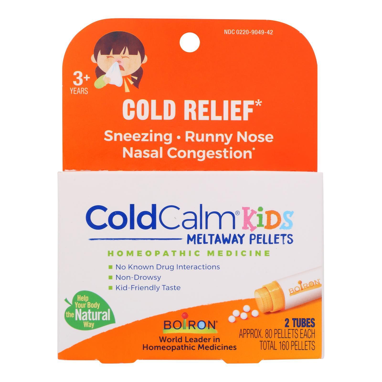 Boiron Children's Cold Calm Pellets - 2 Doses