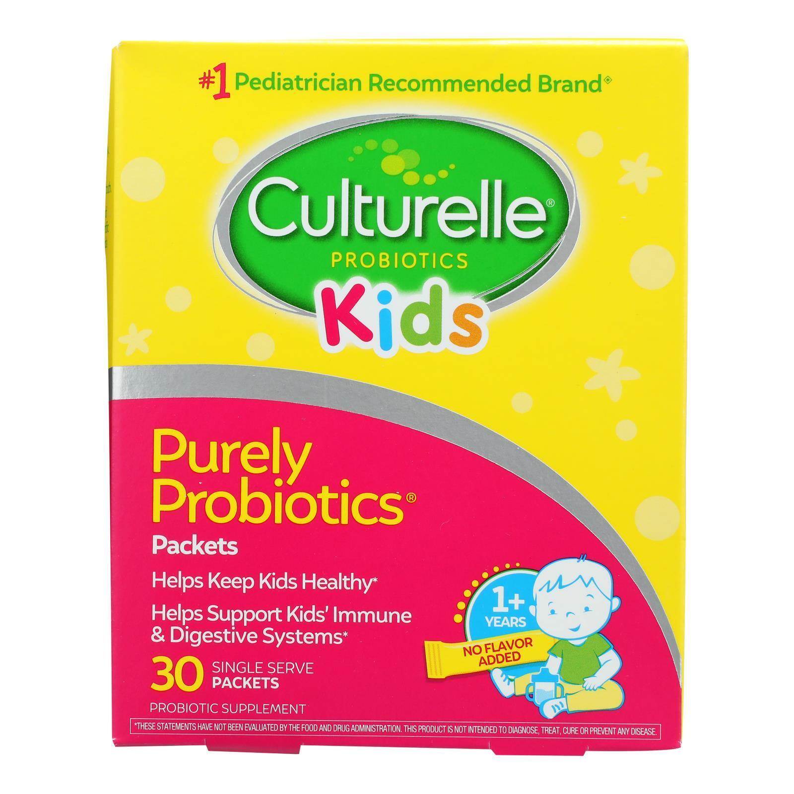 Culturelle Probiotics for Kids - 30 Packets