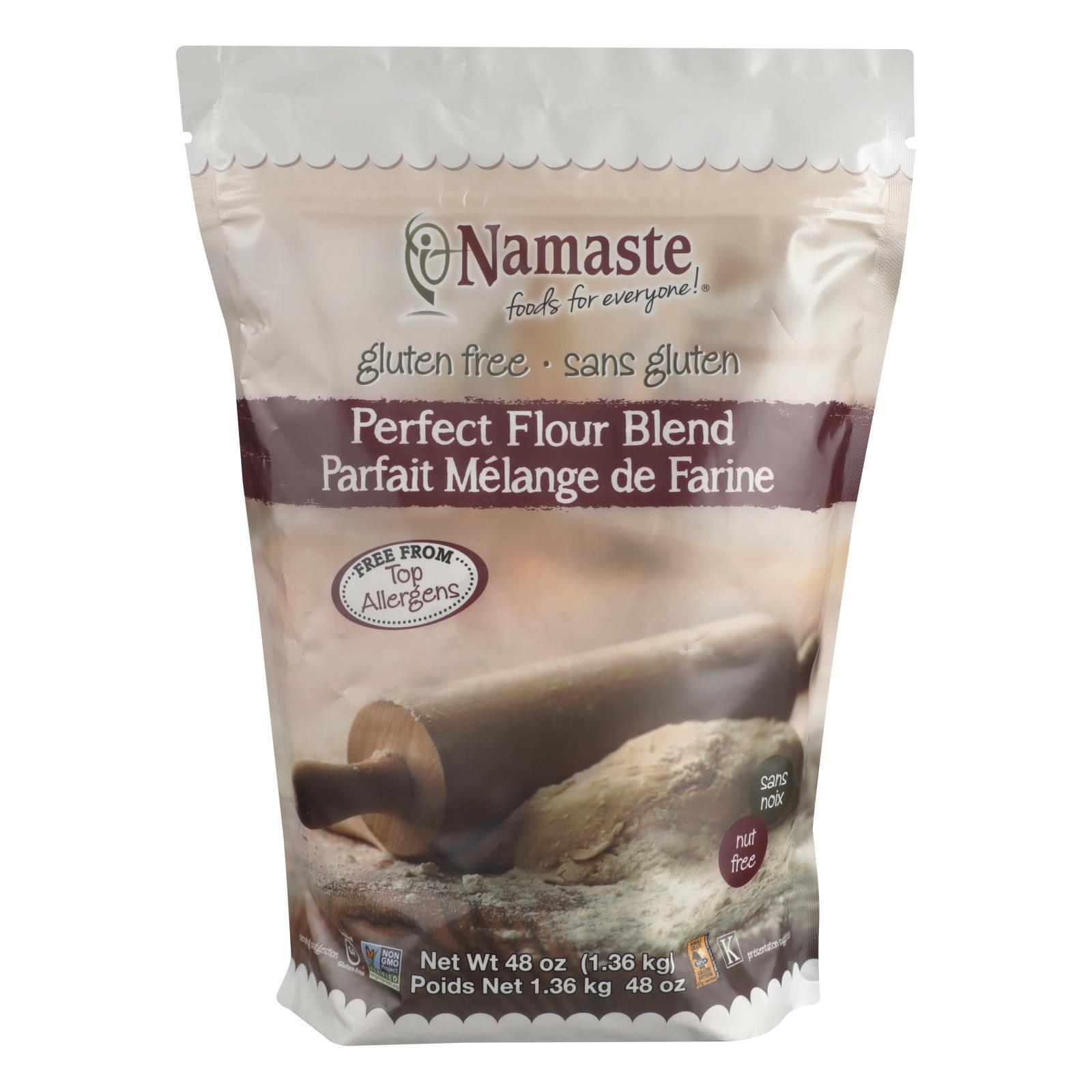 Namaste Foods Gluten Free Perfect Flour Blend - Flour - Case of 6 - 48 oz.