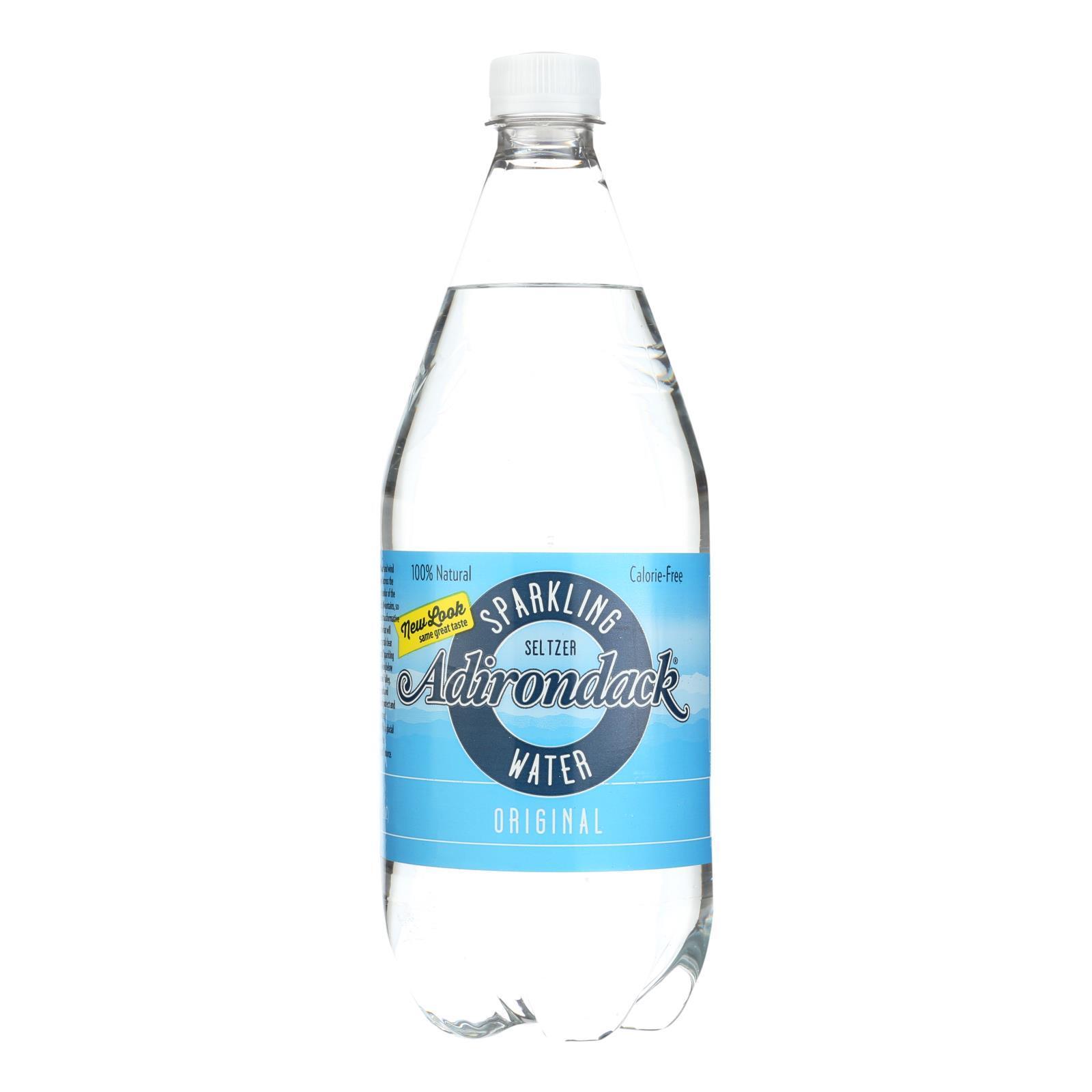 Naturals Adirondack Seltzer - Original - Case of 12 - 33.8 Fl oz.