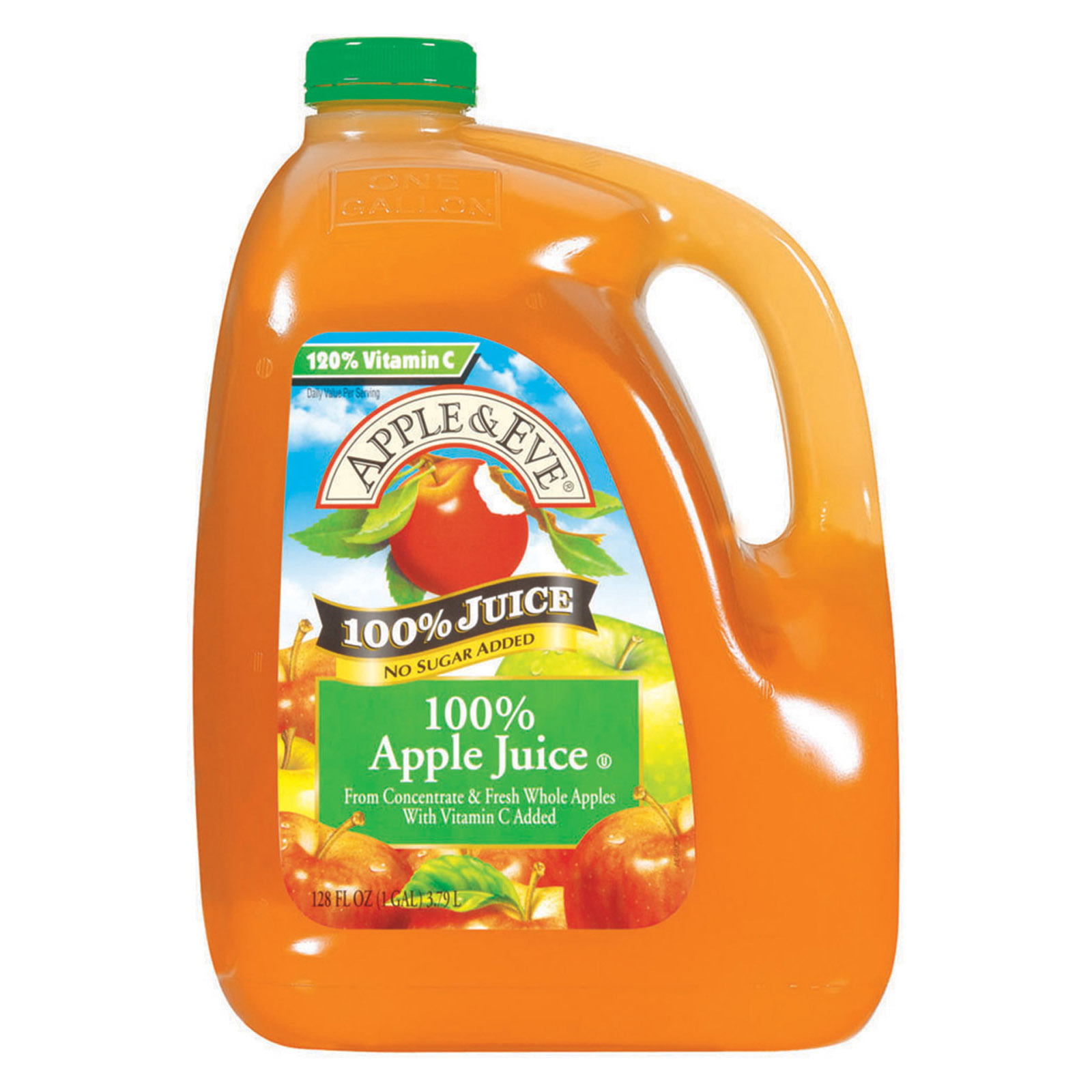 Apple and Eve 100 Percent Apple Juice - Case of 4 - 128 fl oz.
