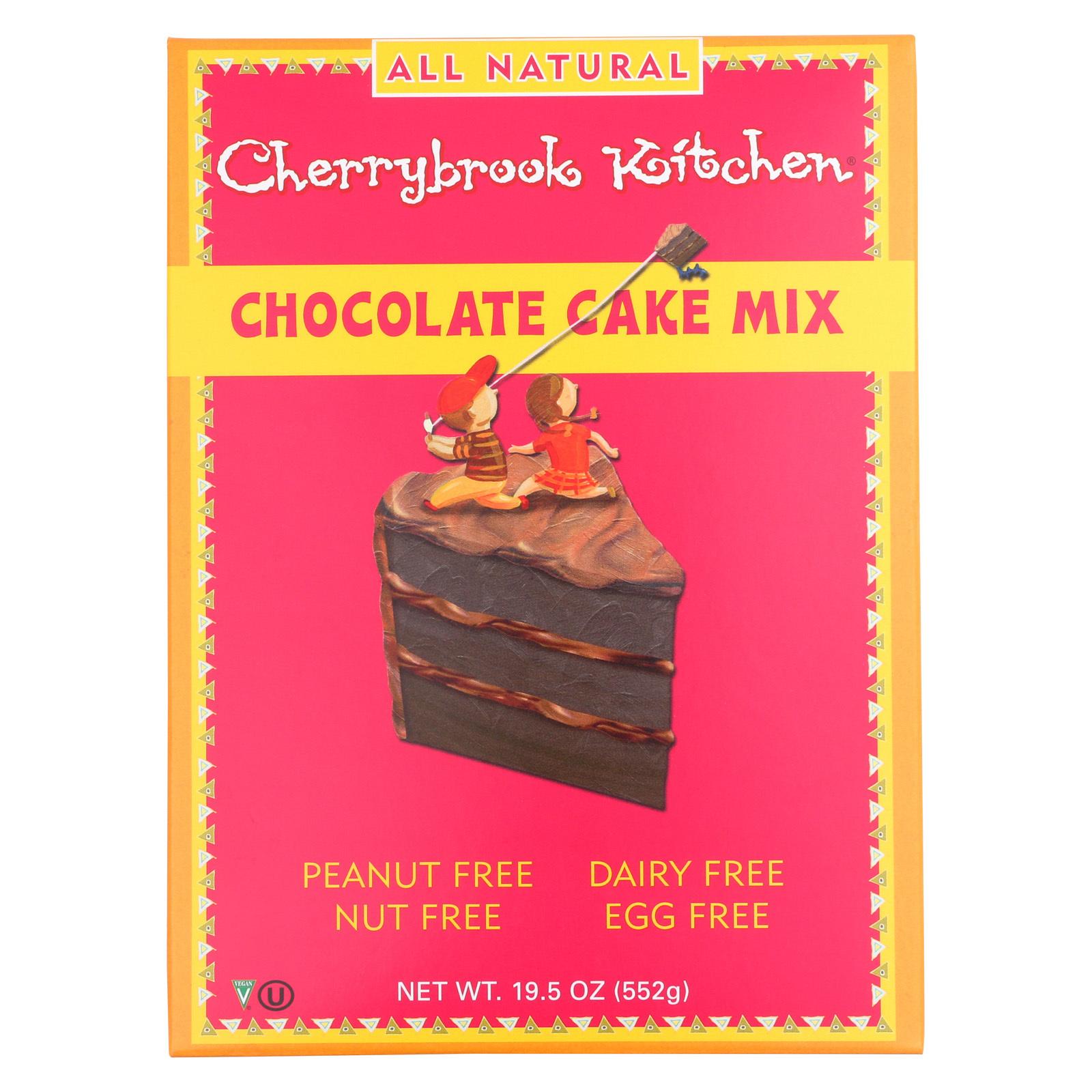 Cherrybrook Kitchen Cake Mix - Chocolate - Case of 6 - 19.5 oz.
