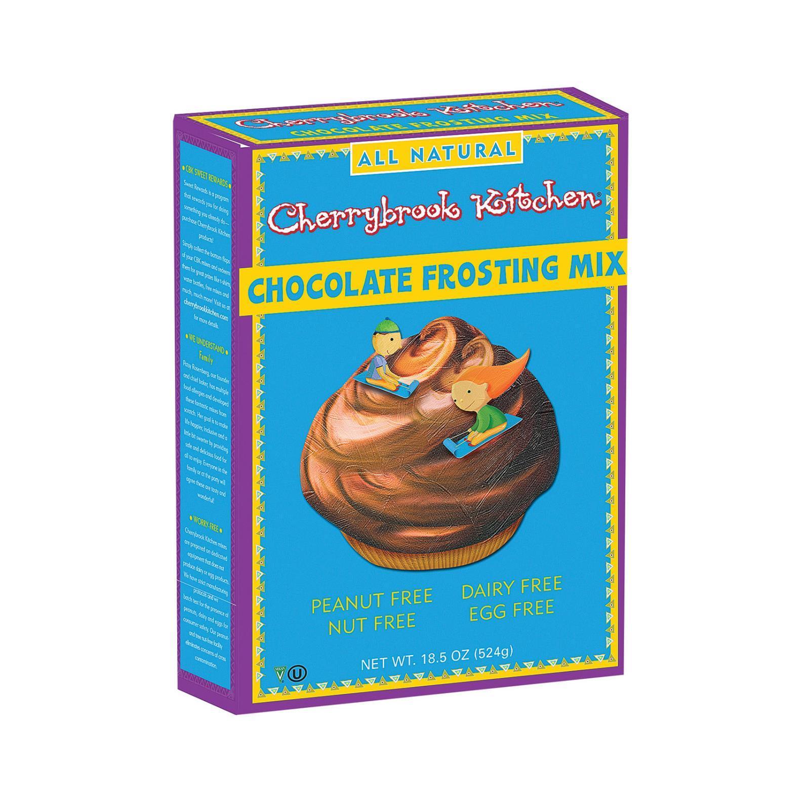 Cherrybrook Kitchen Chocolate Frosting Mix - Case of 6 - 10.5oz