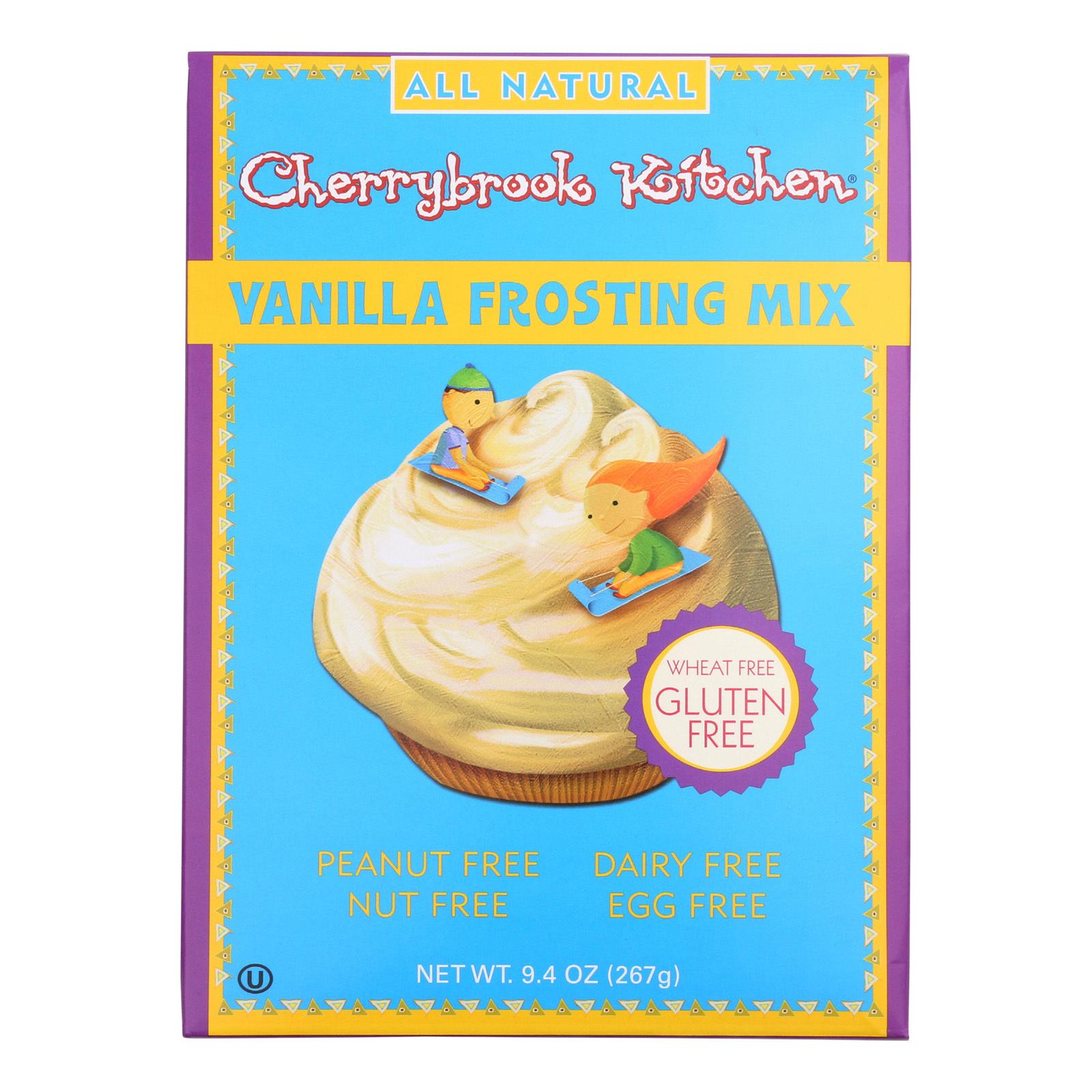 Cherrybrook Kitchen Frosting Mix - Vanilla - Case of 6 - 9.4 oz