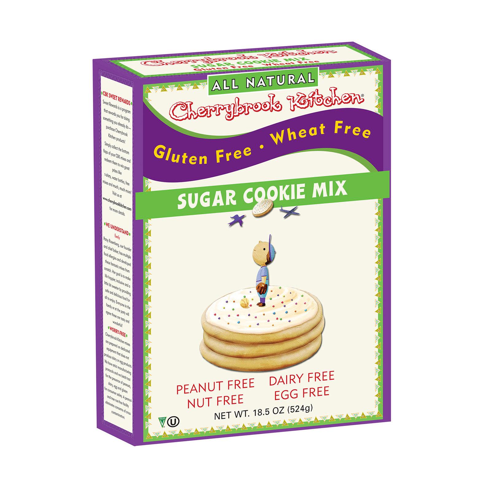 Cherrybrook Kitchen Sugar Cookie Mix - Case of 6 - 13.1oz
