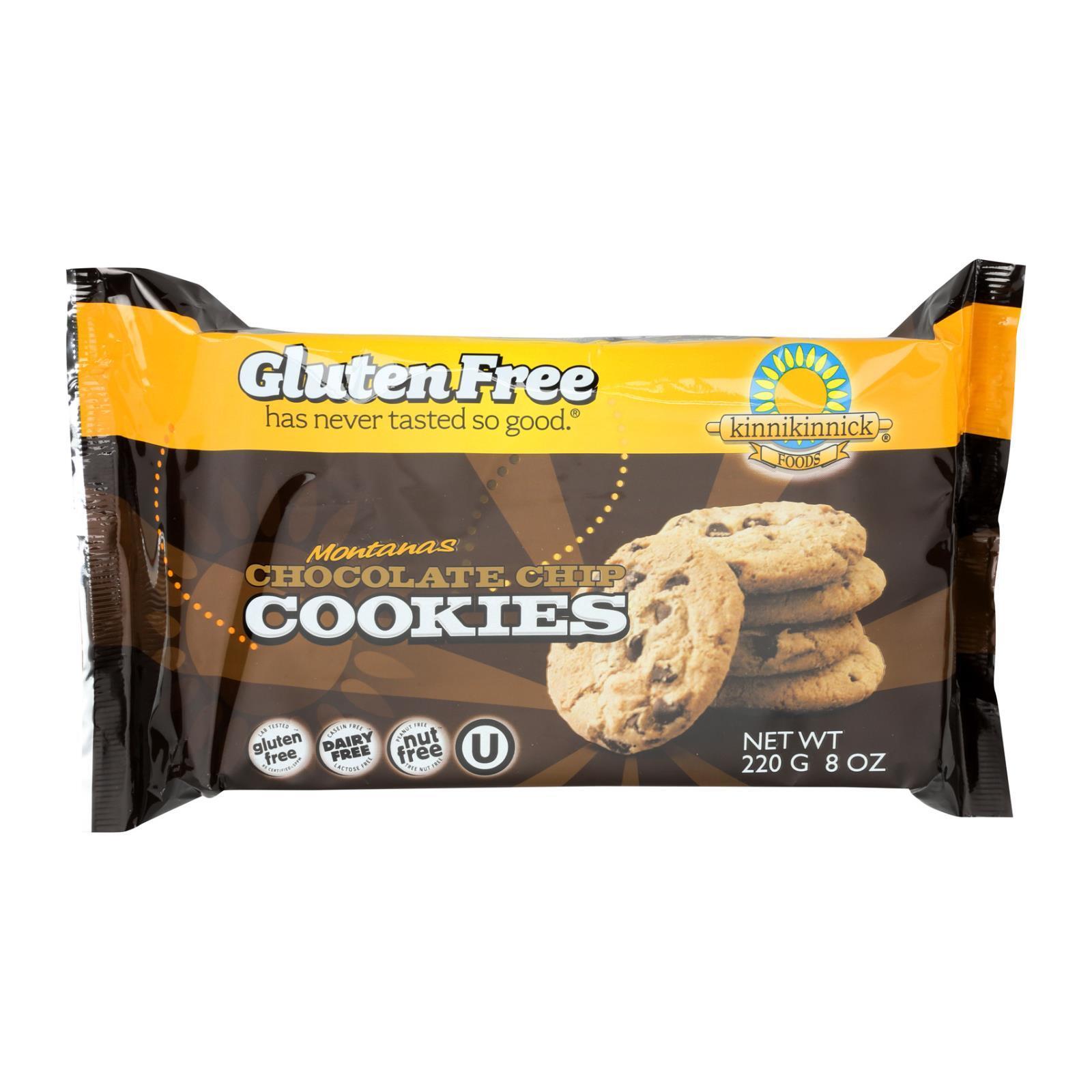 Kinnikinnick Cookies - Chocolate Chip - Case of 6 - 8 oz.