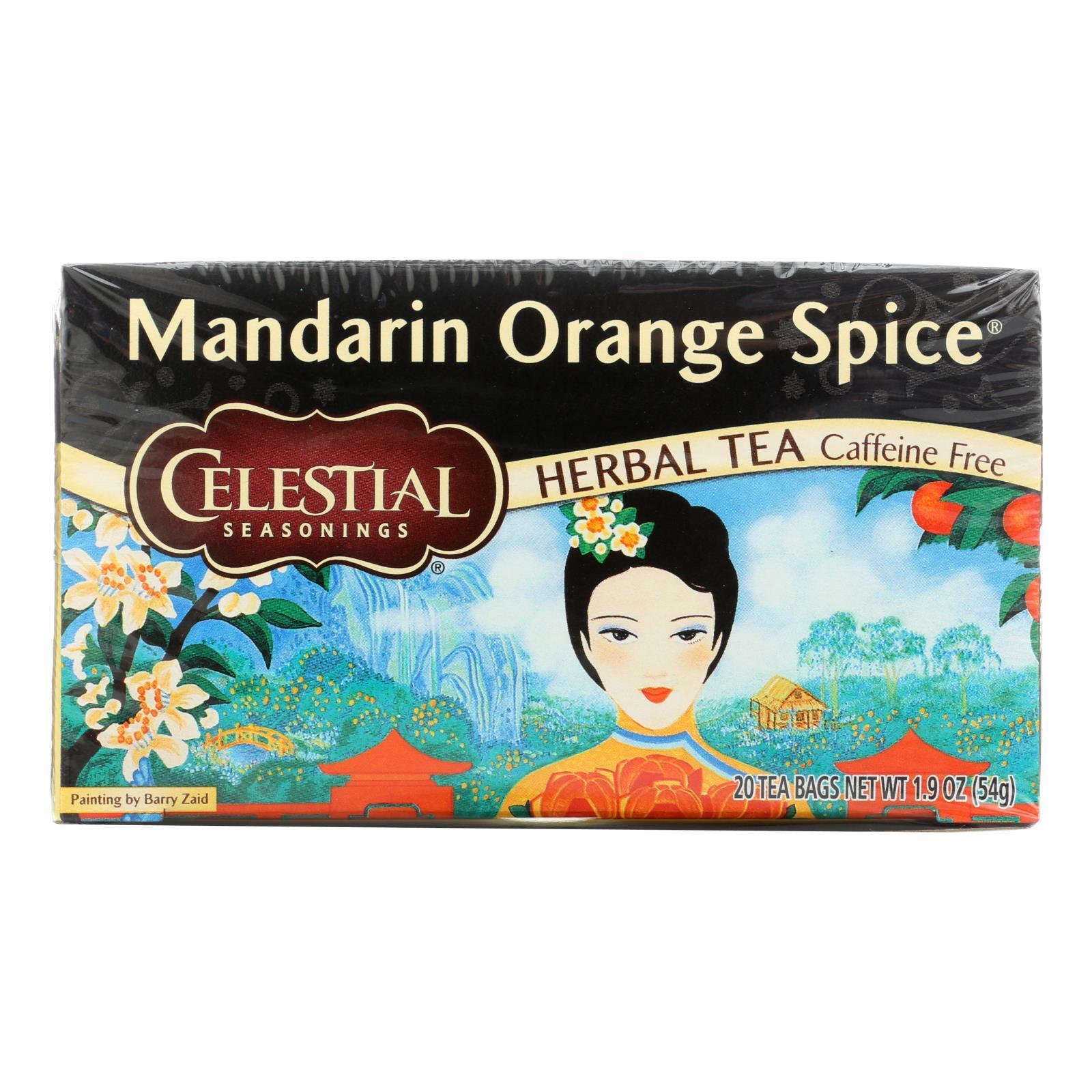Celestial Seasonings Herbal Tea - Mandarin Orange Spice - 20 Bags