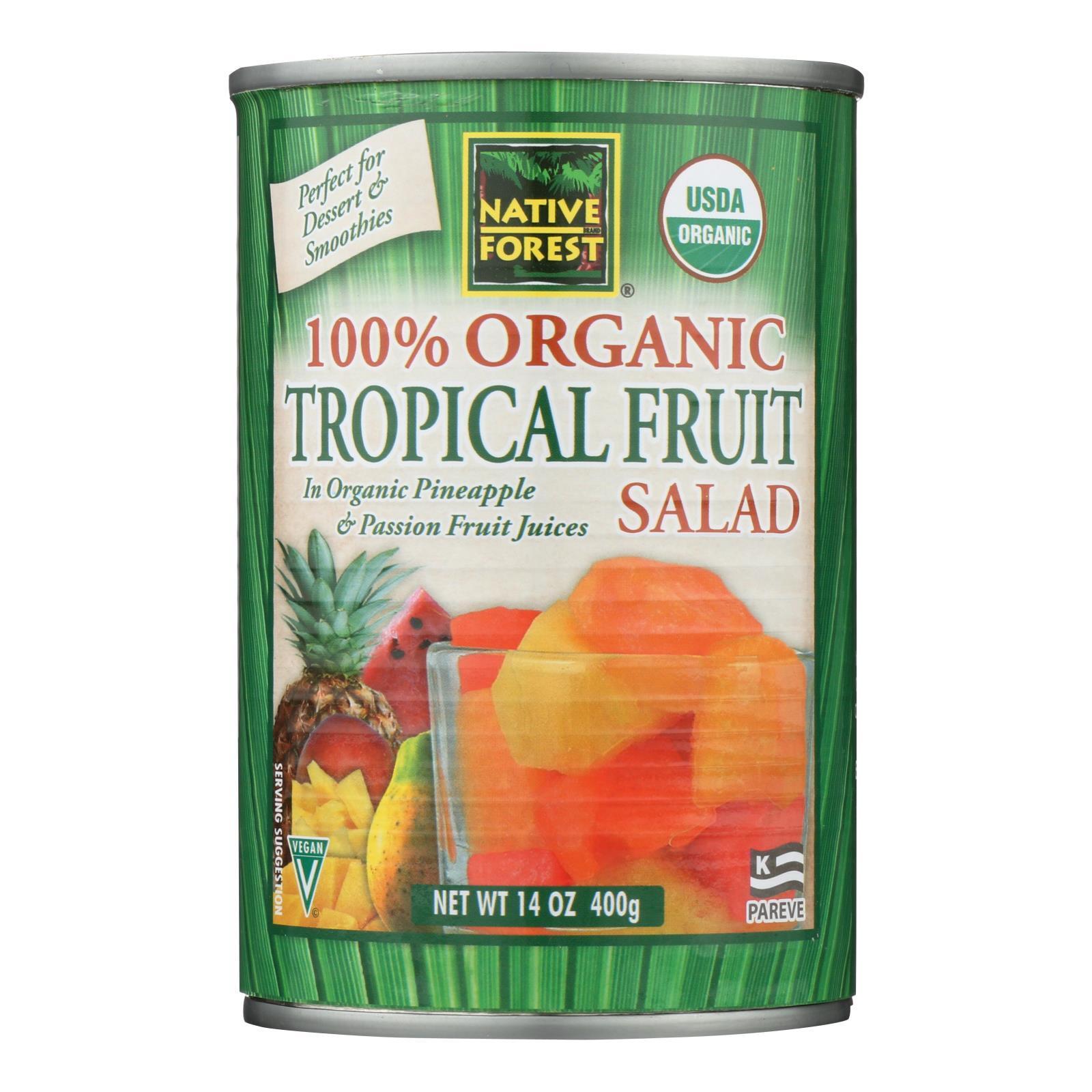 Native Forest Tropical Fruit Salad - Case of 6 - 14 oz.