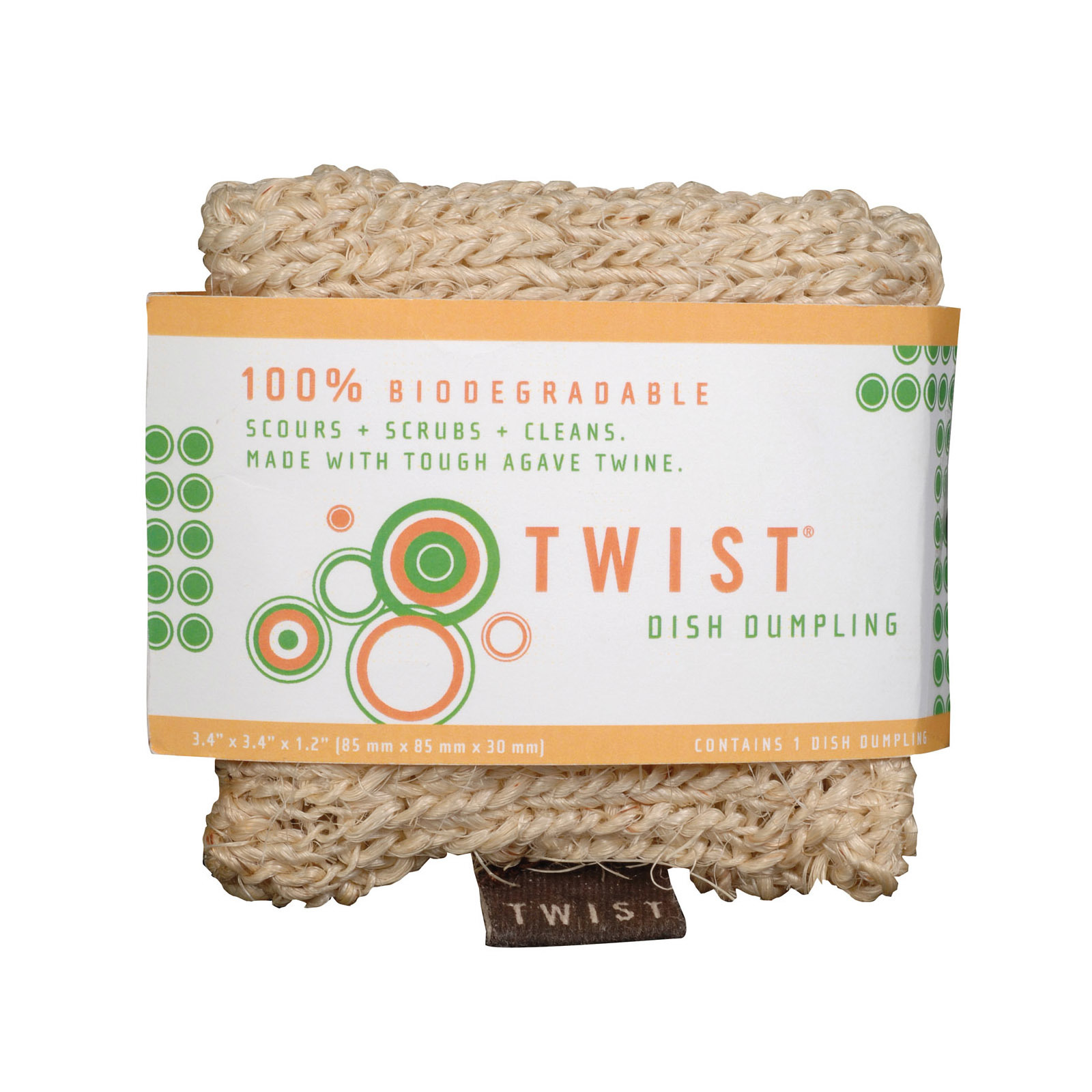 Twist Dish Dumpling - Case of 12 - 1 Count