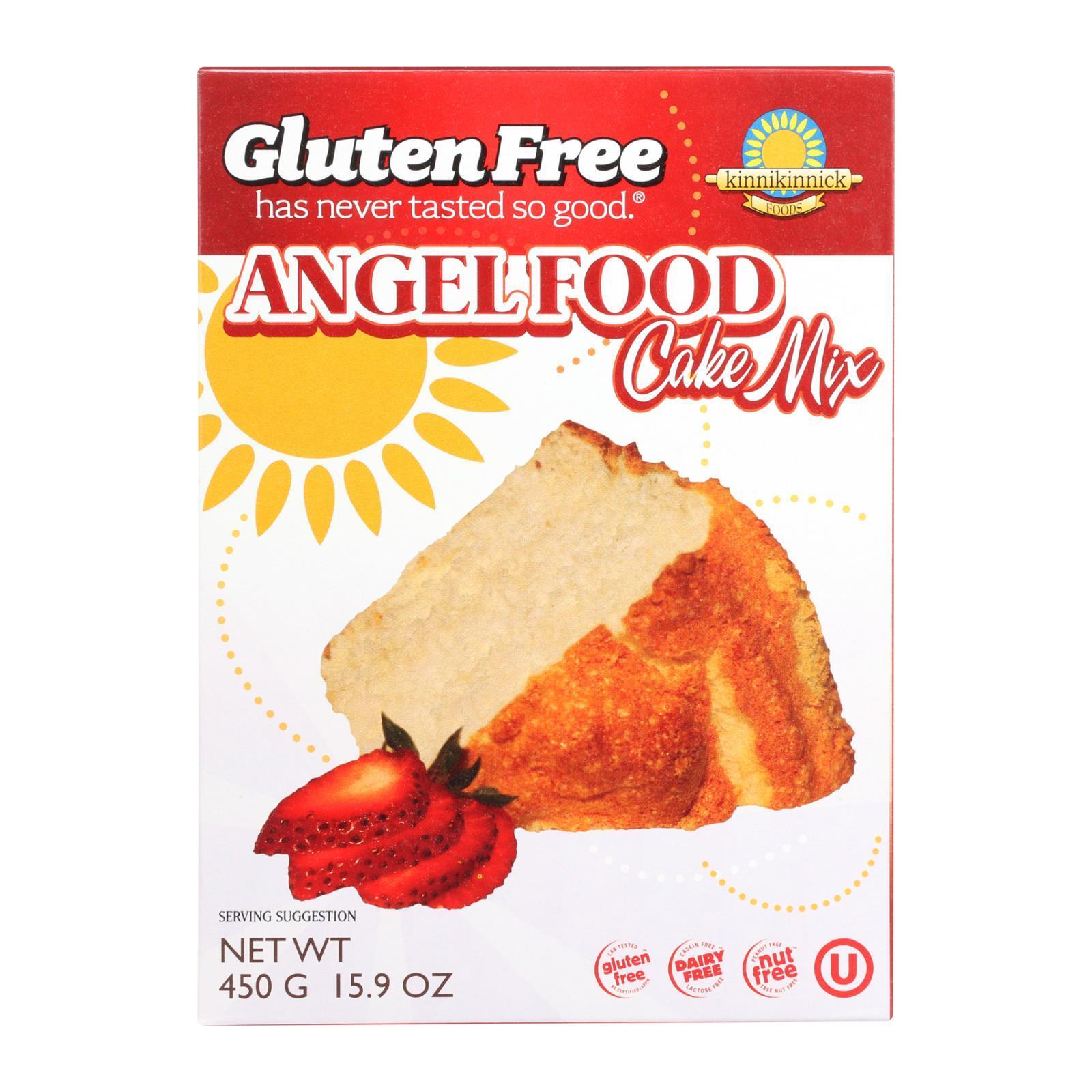 Kinnikinnick Angel Food Cake Mix - Case of 6 - 16 oz.