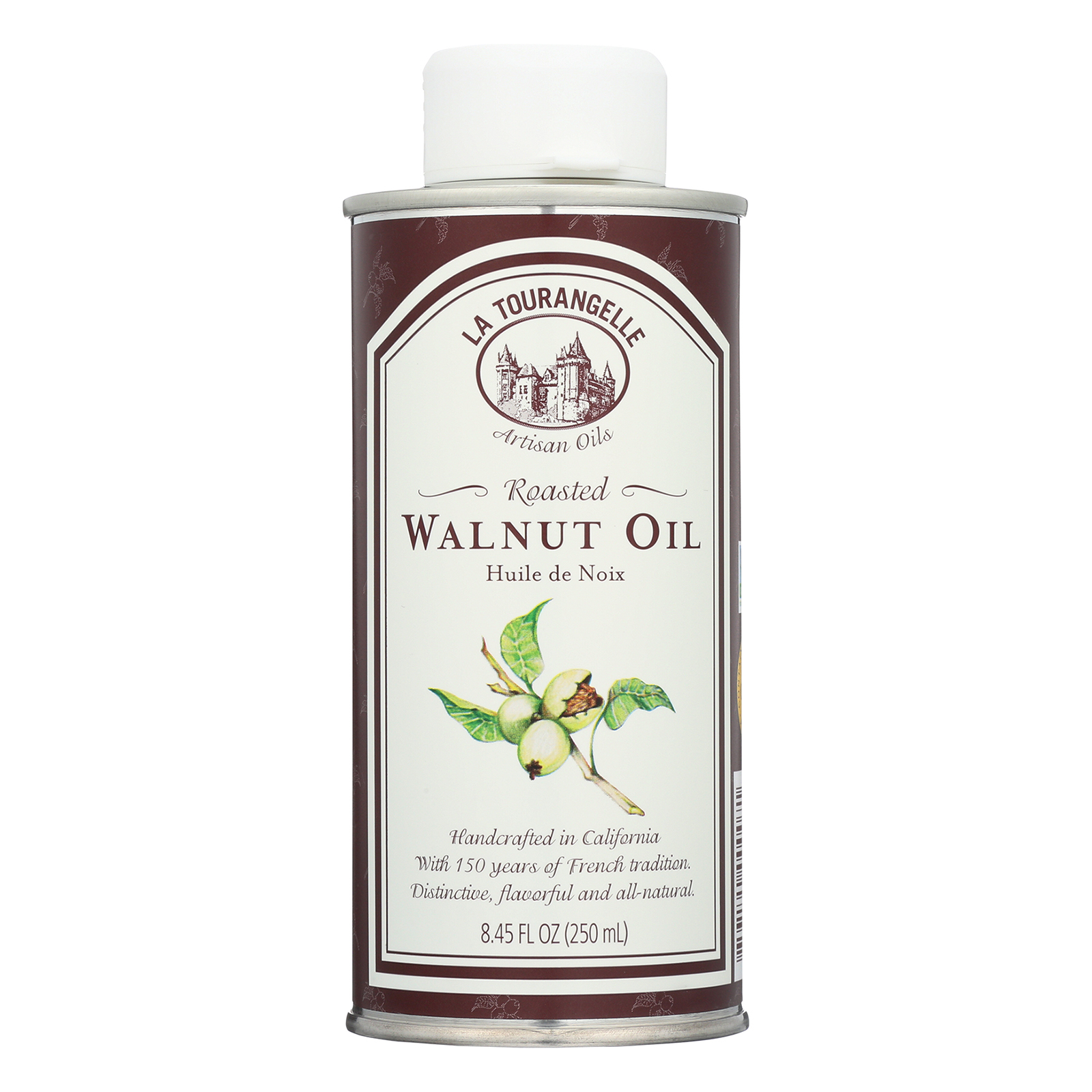 La Tourangelle Roasted Walnut Oil - Case of 6 - 250 ml