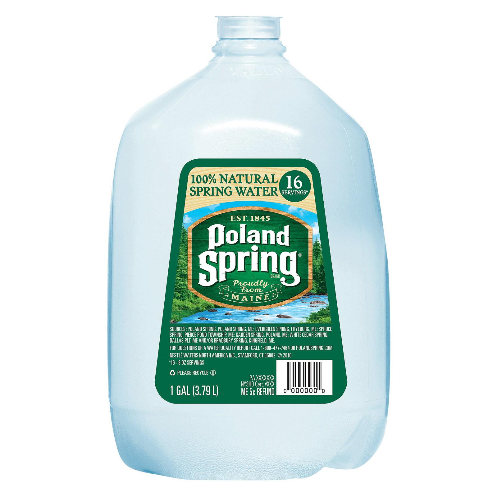 Poland Spring Sparkling Water - Original - Case of 6 - 1 Gal