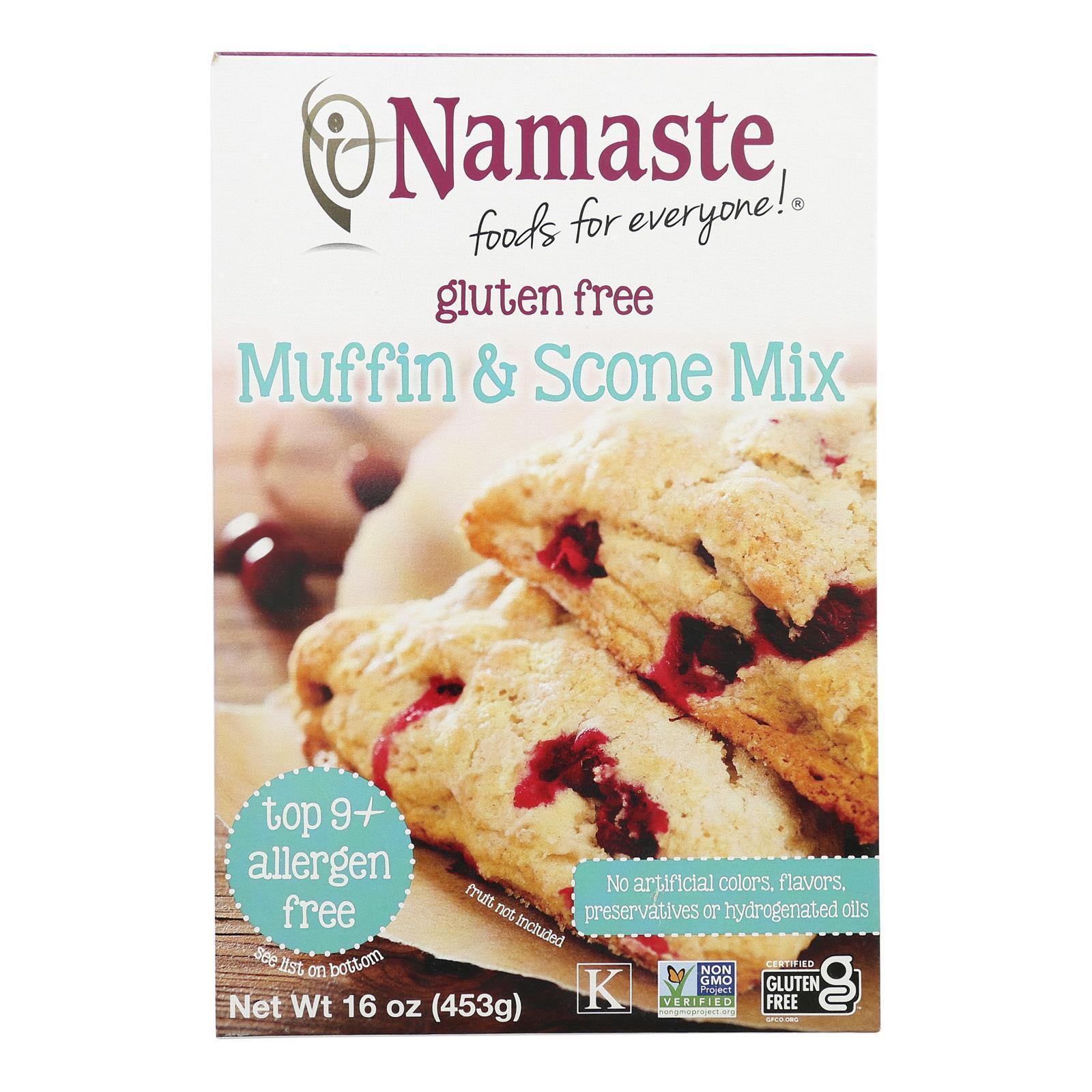 Namaste Foods Gluten Free Muffin - Mix - Case of 6 - 16 oz.