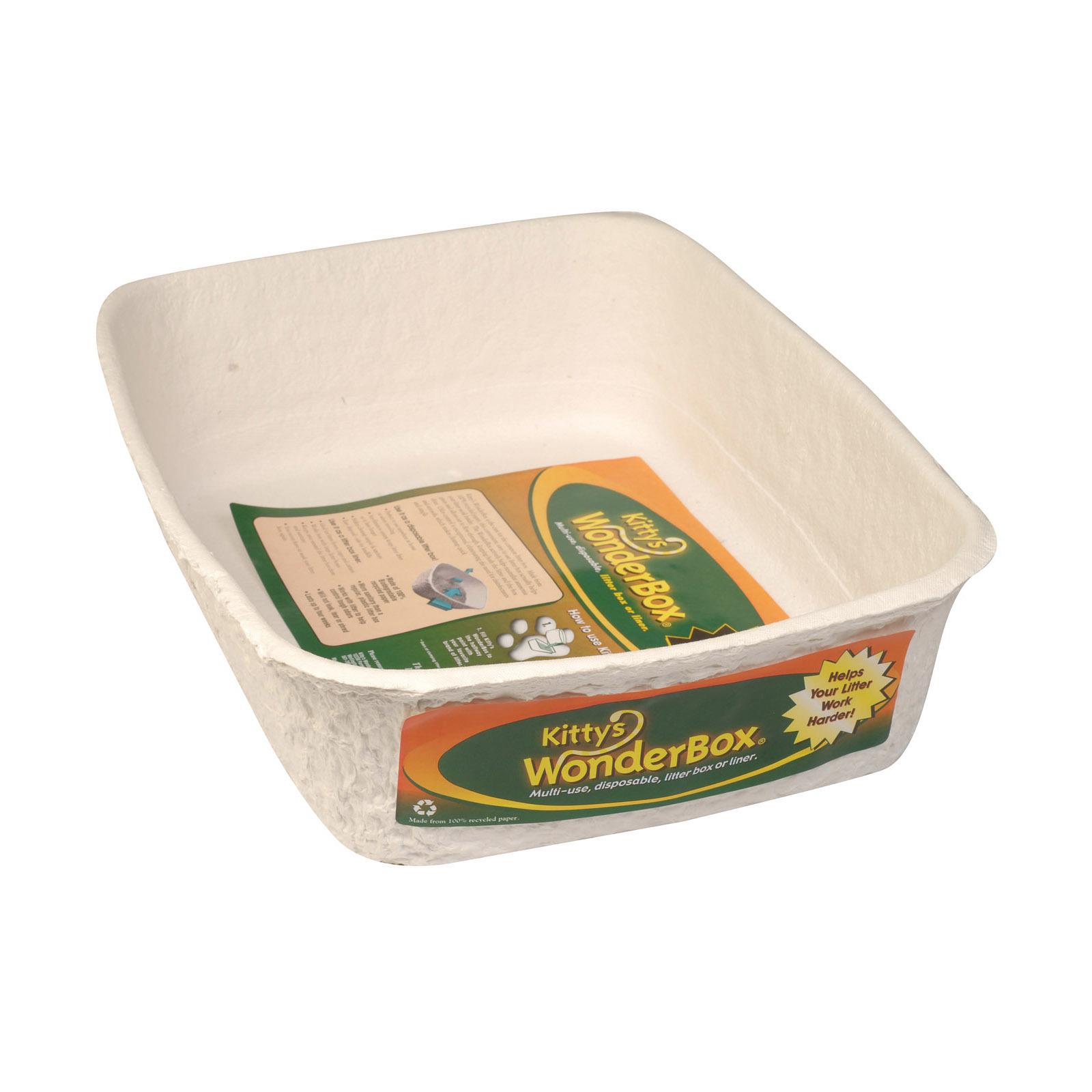Wonder box Disposable Litter Box - Single - Case of 6