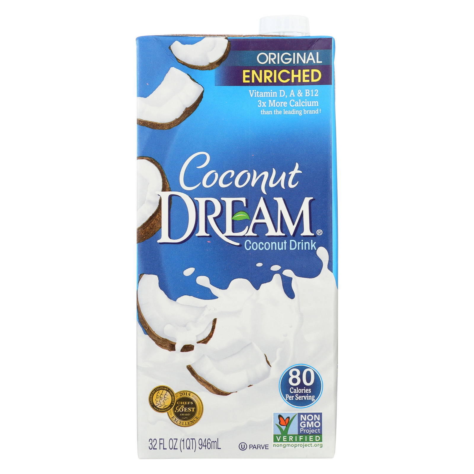 Coconut Dream Coconut Dream Original - Case of 12 - 32 fl oz
