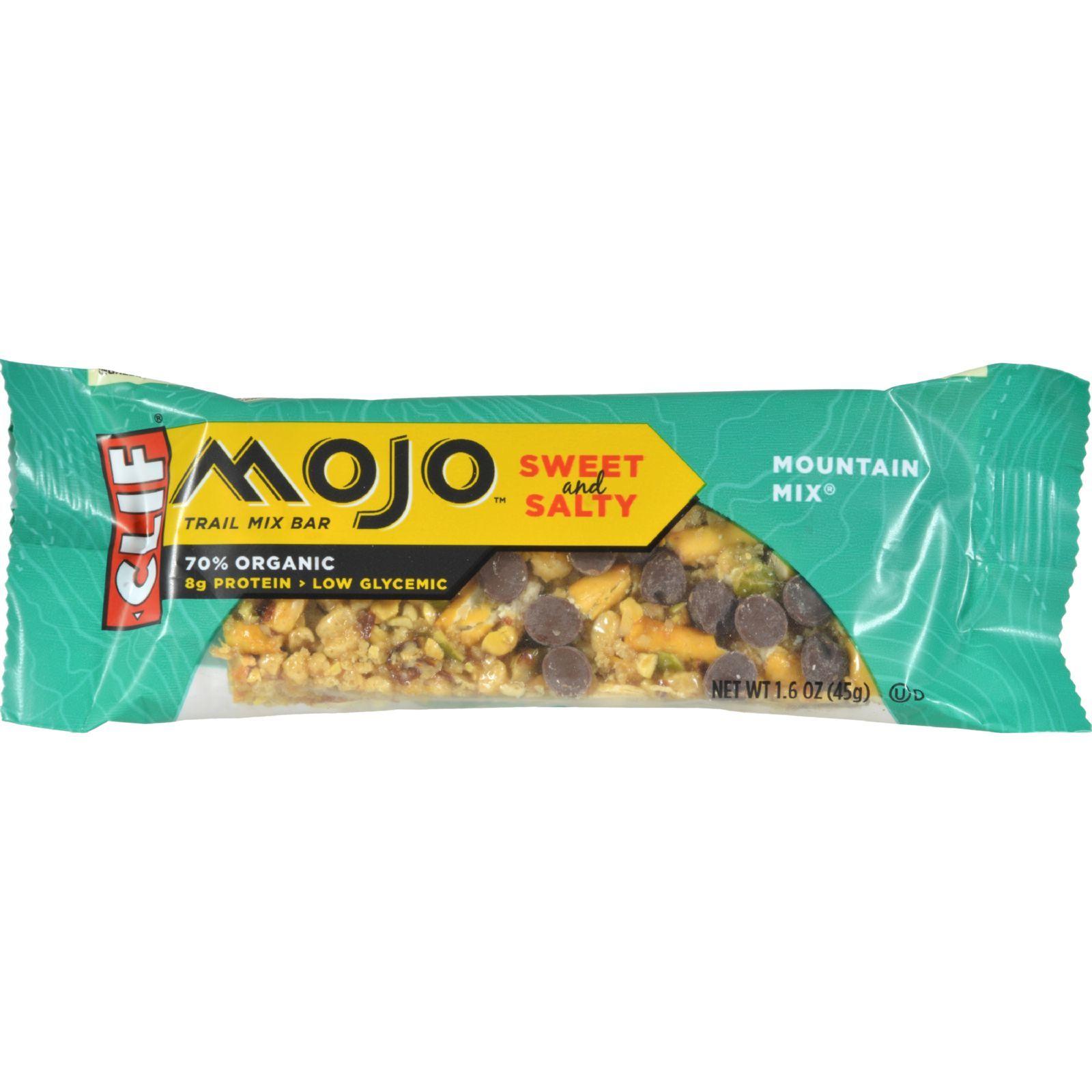 Clif Bar Mojo Bar - Organic Mountain Mix - Case of 12 - 1.59 oz