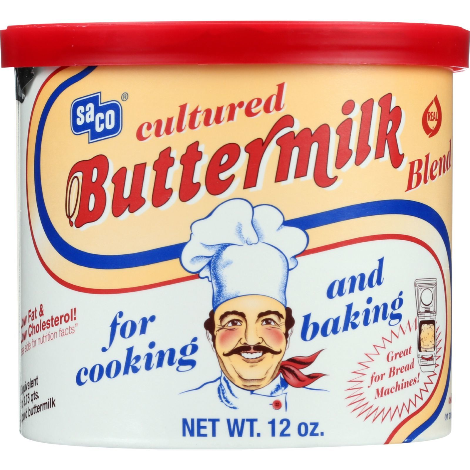 Saco Foods Buttermilk Powder Blend - Cultured - 12 oz - 1 each