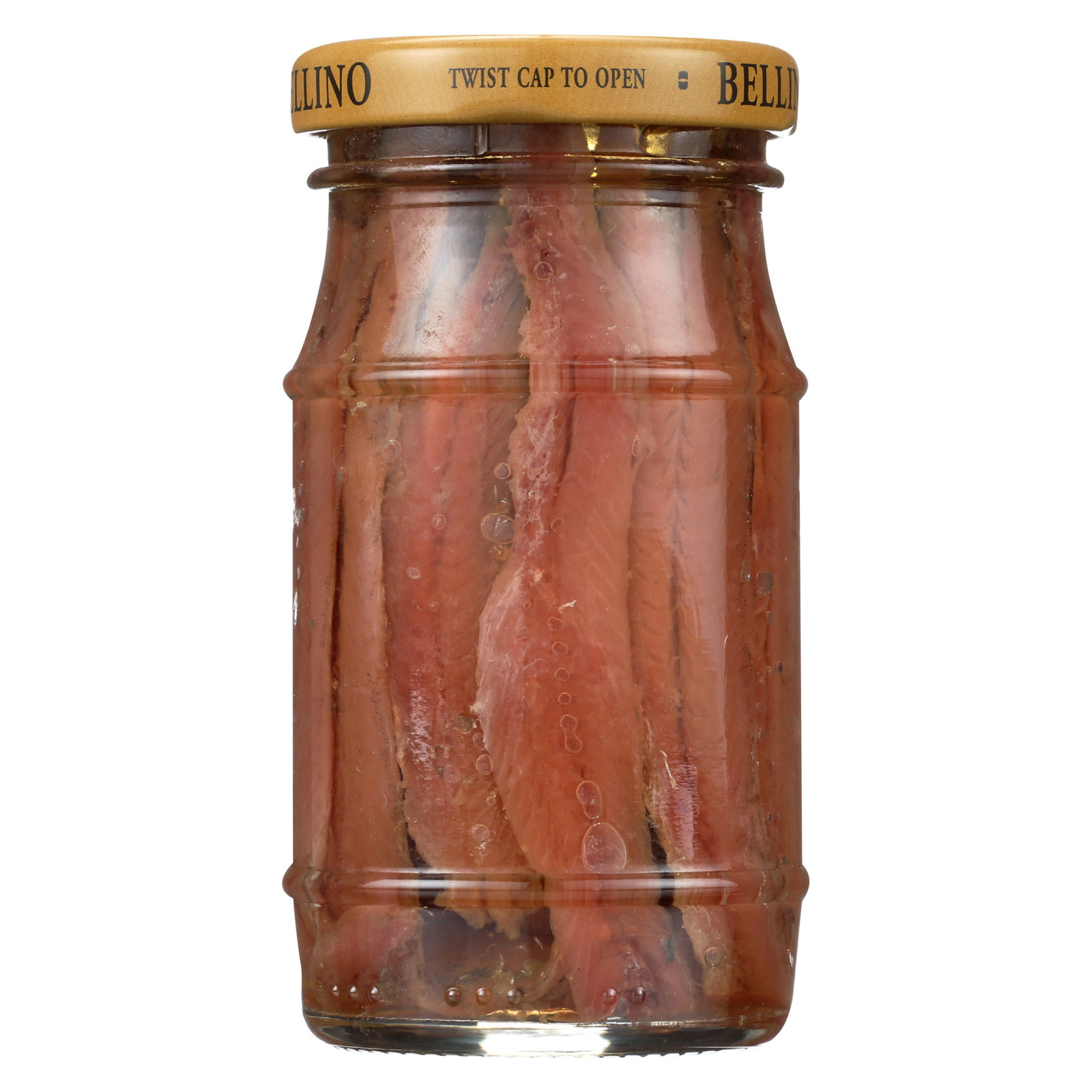 Bellino Anchovies - Oil - Flat - Case of 12 - 4.25 oz