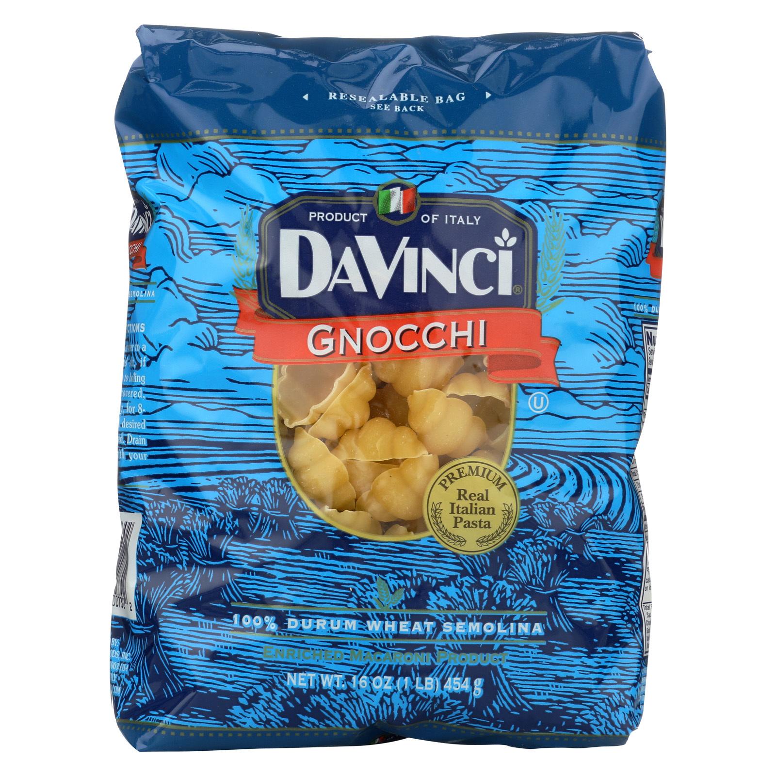 DaVinci Gnocchi Pasta - Case of 12 - 1 lb.