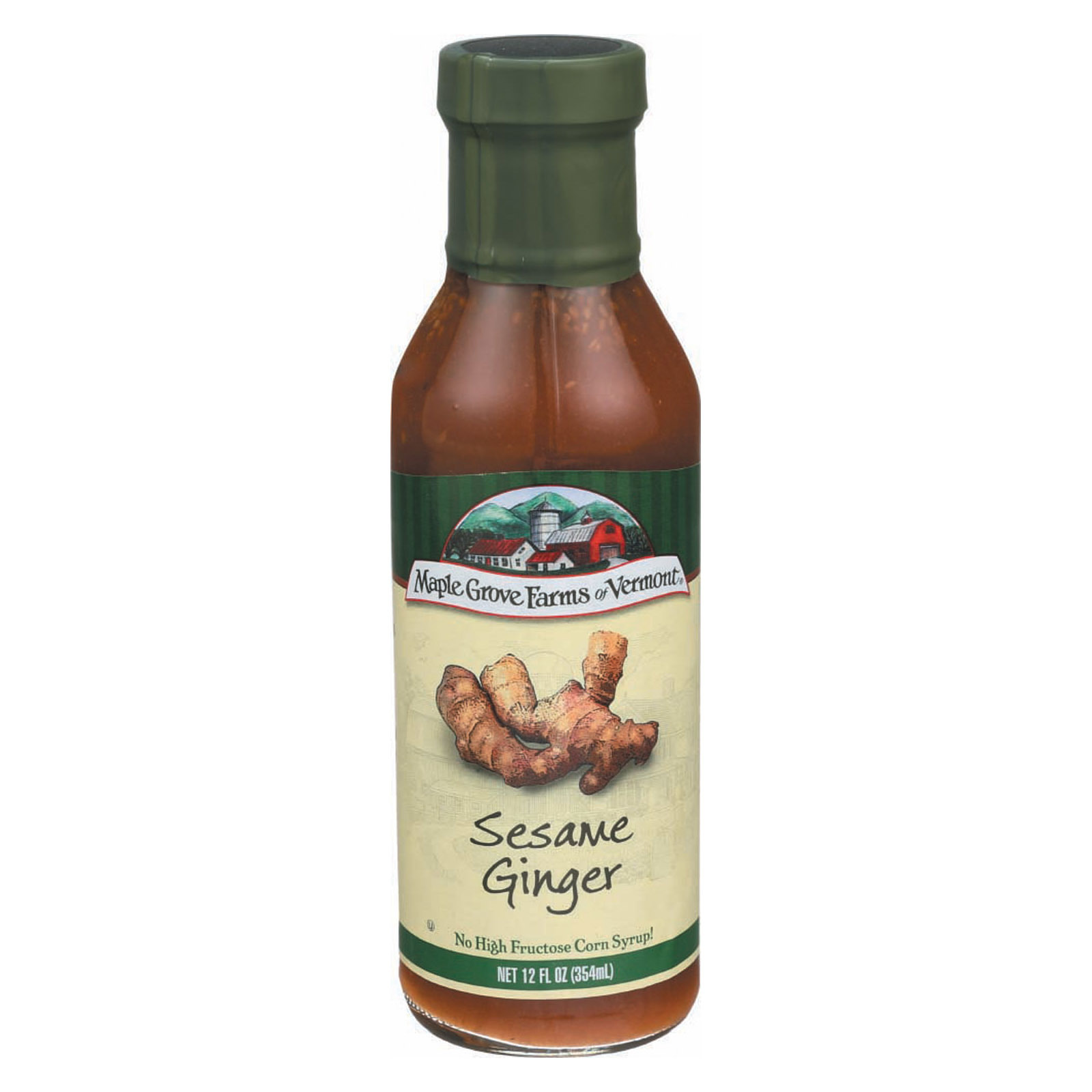 Maple Grove Farms Sesame Ginger Dressing - Case of 6 - 12 Fl oz.