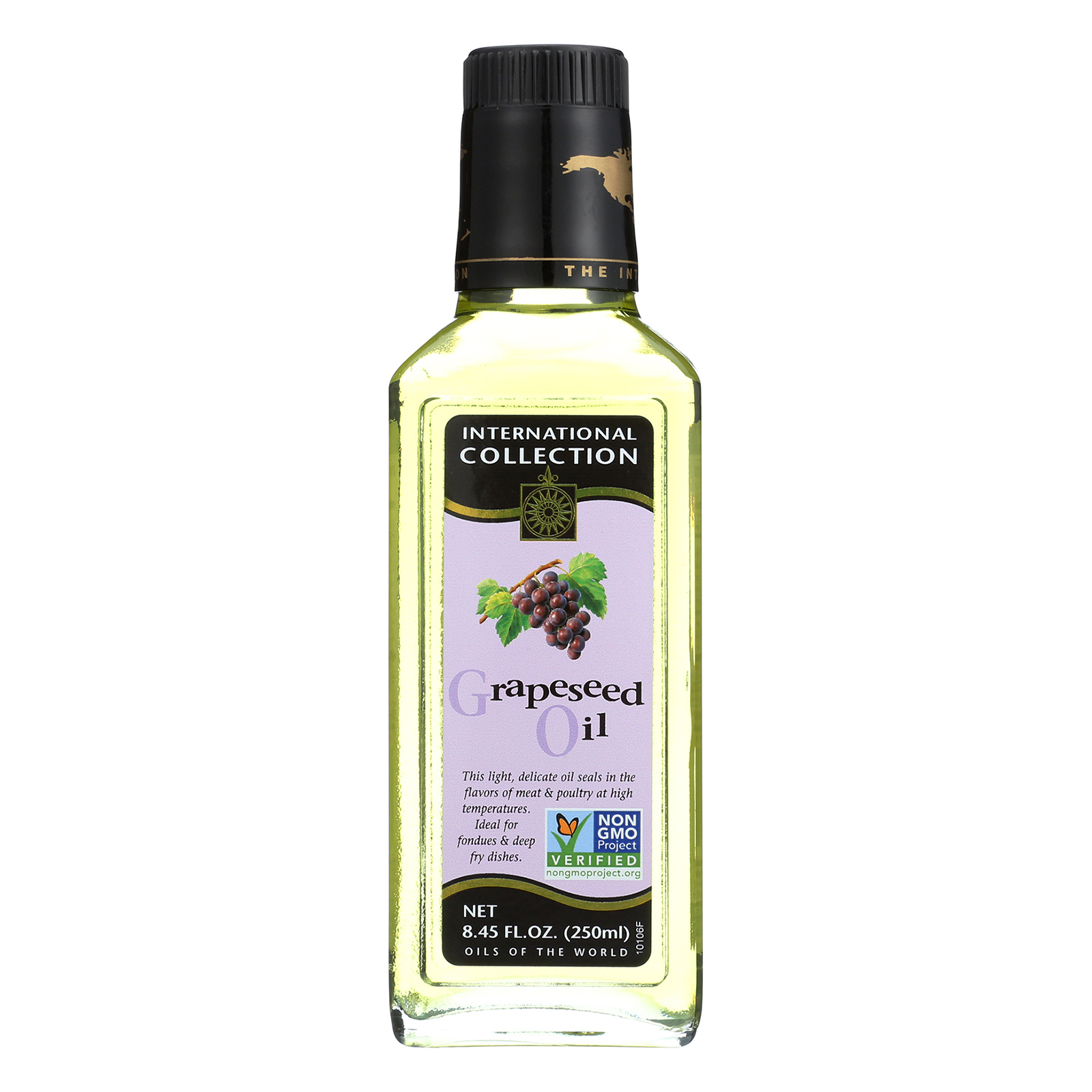 International Collection Grapeseed Oil - Case of 6 - 8.45 Fl oz.