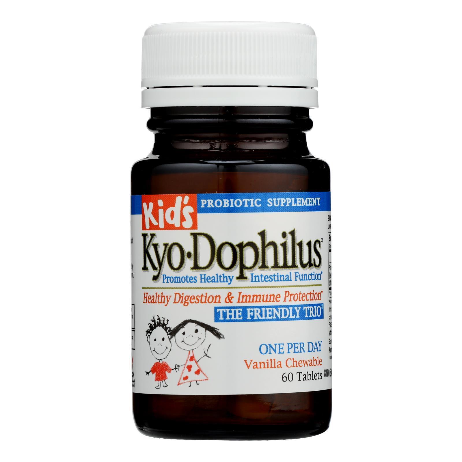 Kyolic Kid's Kyo-Dophilus - 60 Tablets