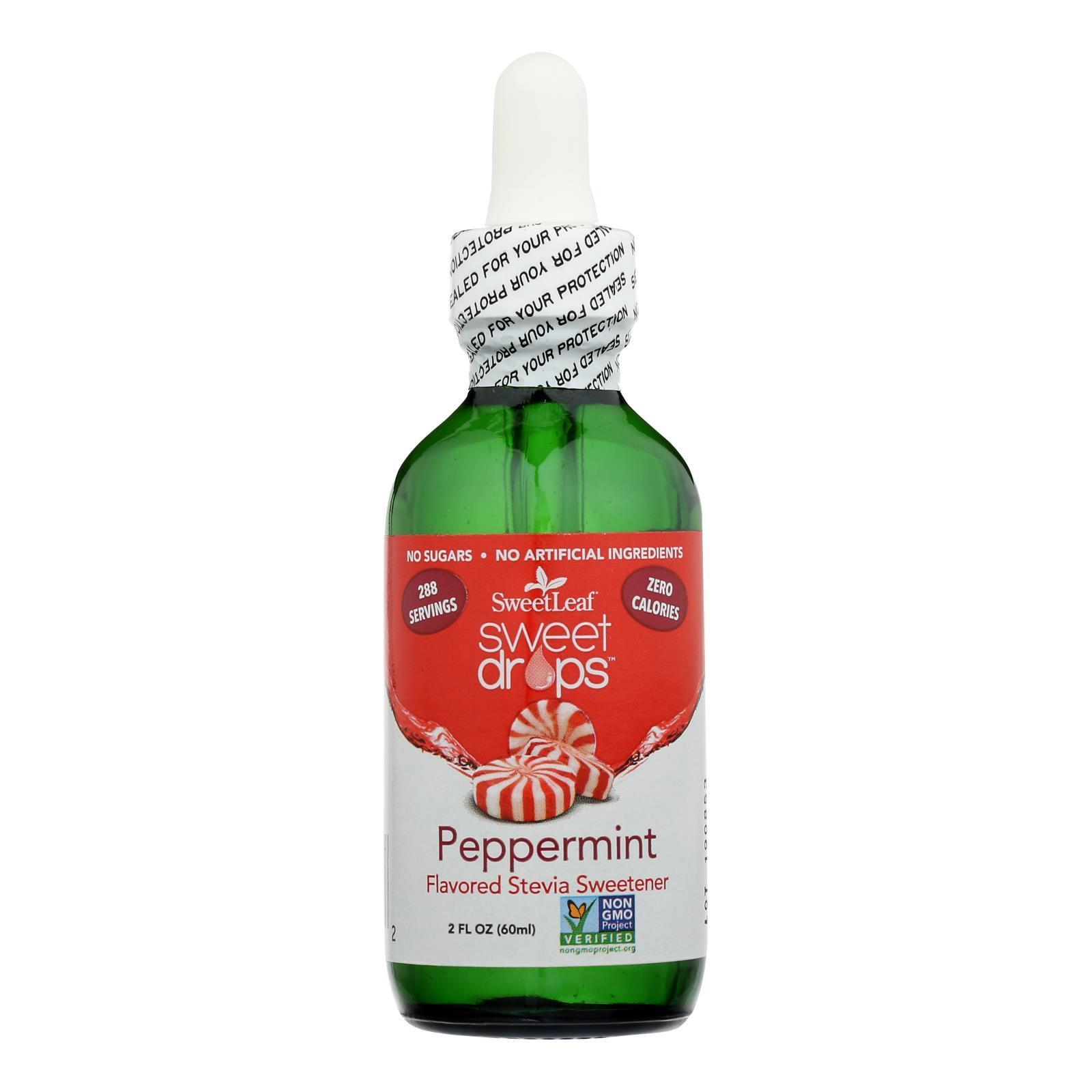 Sweet Leaf Sweet Drops Sweetener Peppermint - 2 fl oz