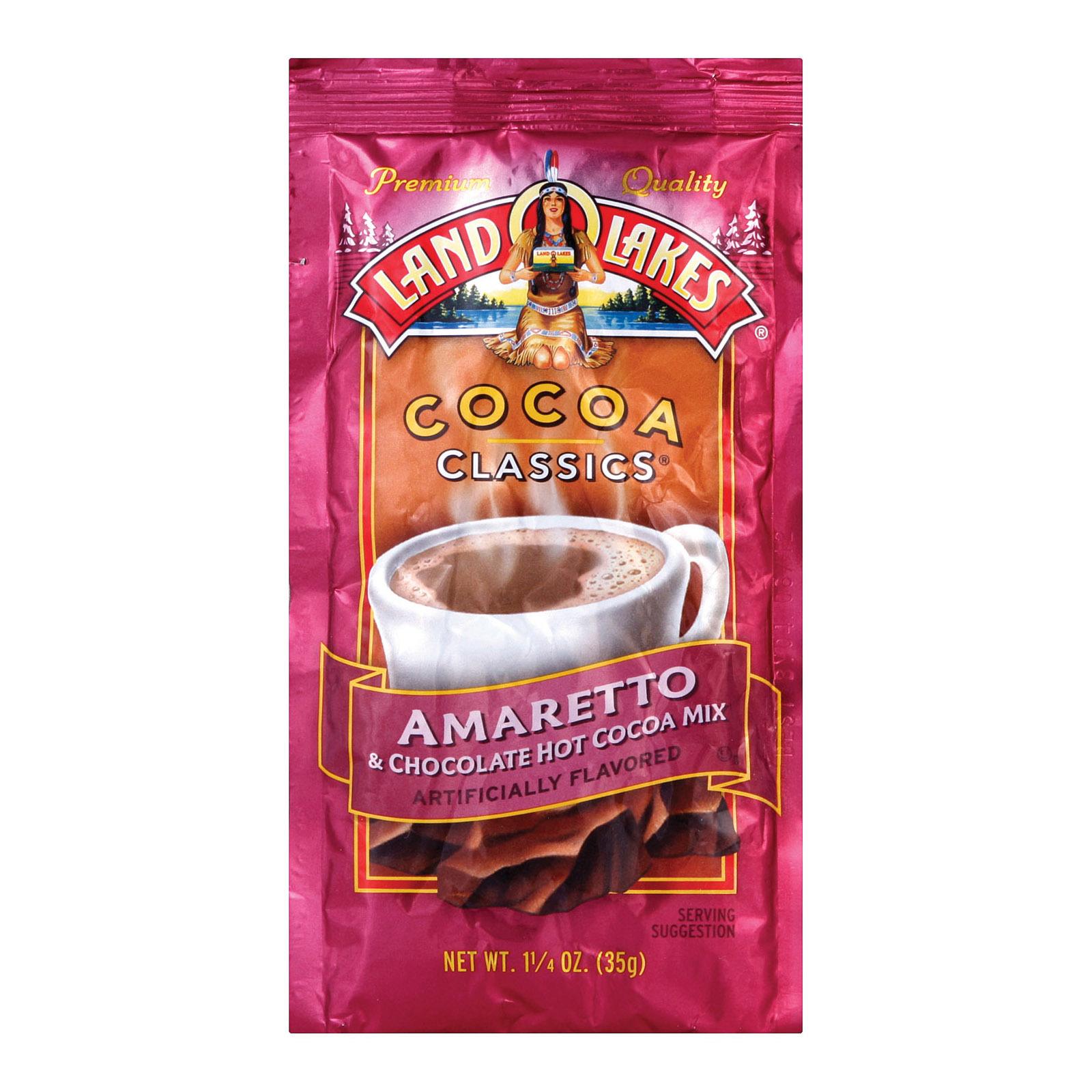 Land O Lakes Cocoa Classics Chocolate Amaretto - Case of 12 - 1.25 oz